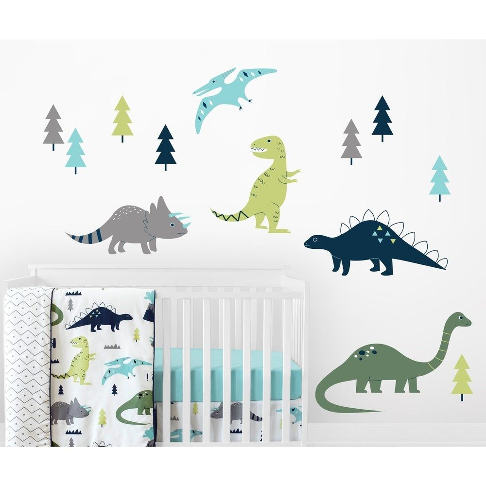 Overstock: Online Shopping – Bedding, Furniture With Well Liked Blended Fabric Mod Dinosaur 3 Piece Wall Hangings Set (View 12 of 20)