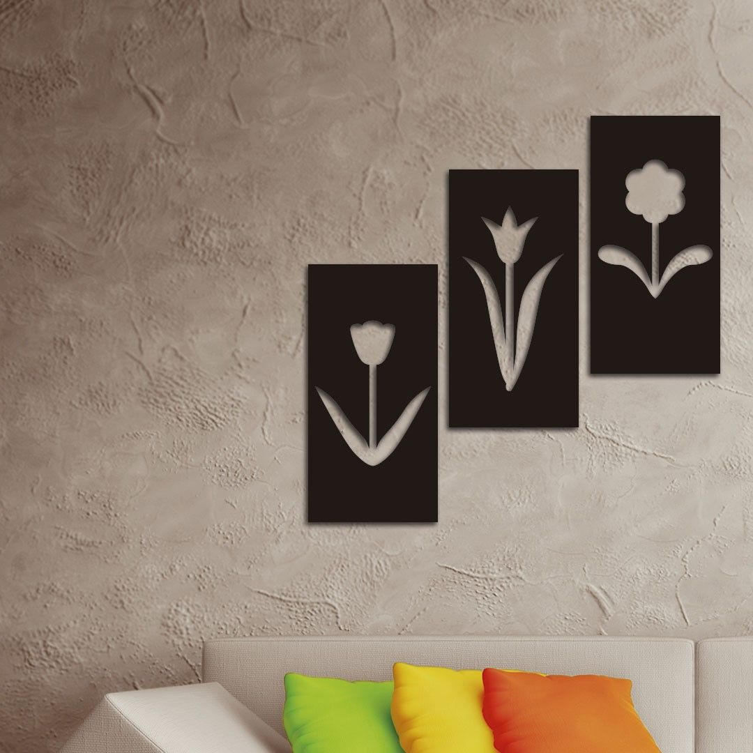 Pin Em Quadros Decorativos Inove With Regard To Latest Paulina Panels Wall Décor (set Of 2) (View 3 of 20)