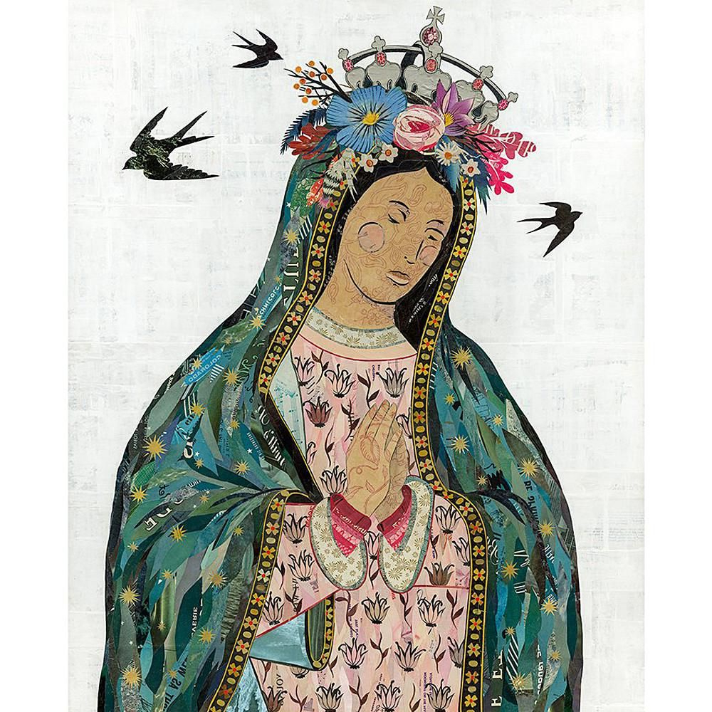 Pin On For The Home Within Newest Blended Fabric Our Lady Of Guadalupe Wall Hangings (View 18 of 20)