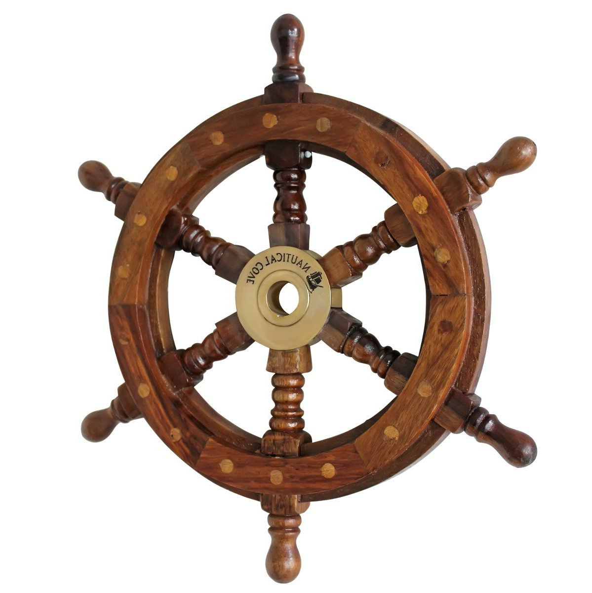 Pin On Ship Wheel Wall Decor With Trendy Brown/brass Wood Ship Wheel Wall Décor (View 11 of 20)