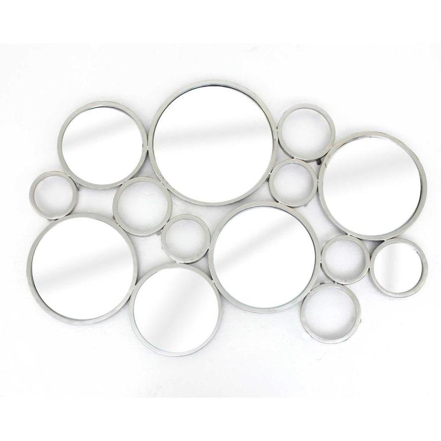 Popular Multi Circles Wall Décor For Homeroots 25 In X 37 In X (View 9 of 20)