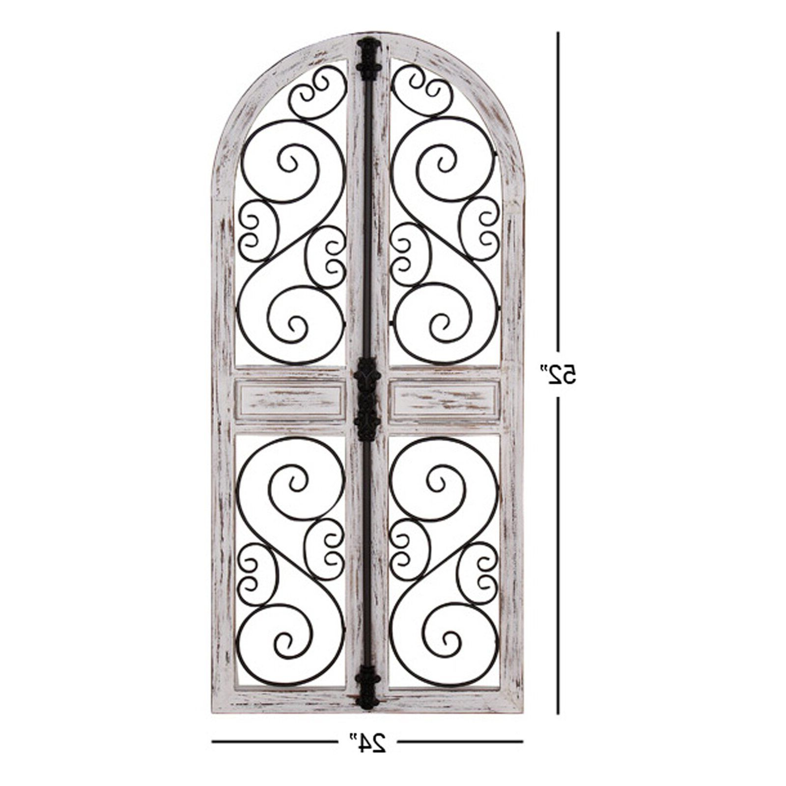 Popular One Allium Way® Wood Door Wall Decor (View 17 of 20)