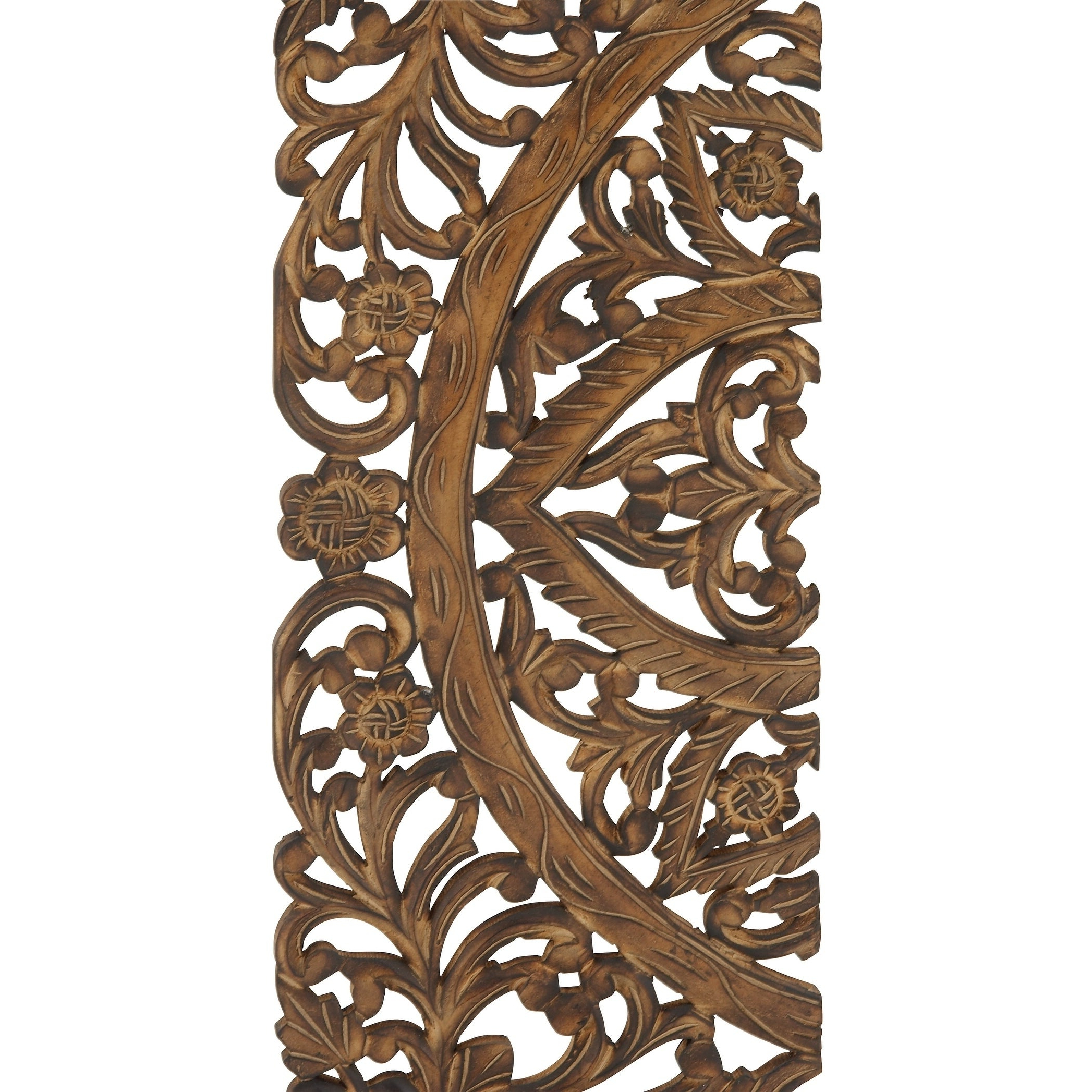 Popular Set Of 3 Traditional 36 Inch Wooden Triptych Wall Panelsstudio 350 Within Melina Metal Medallion Wall Décor (set Of 4) (View 6 of 20)