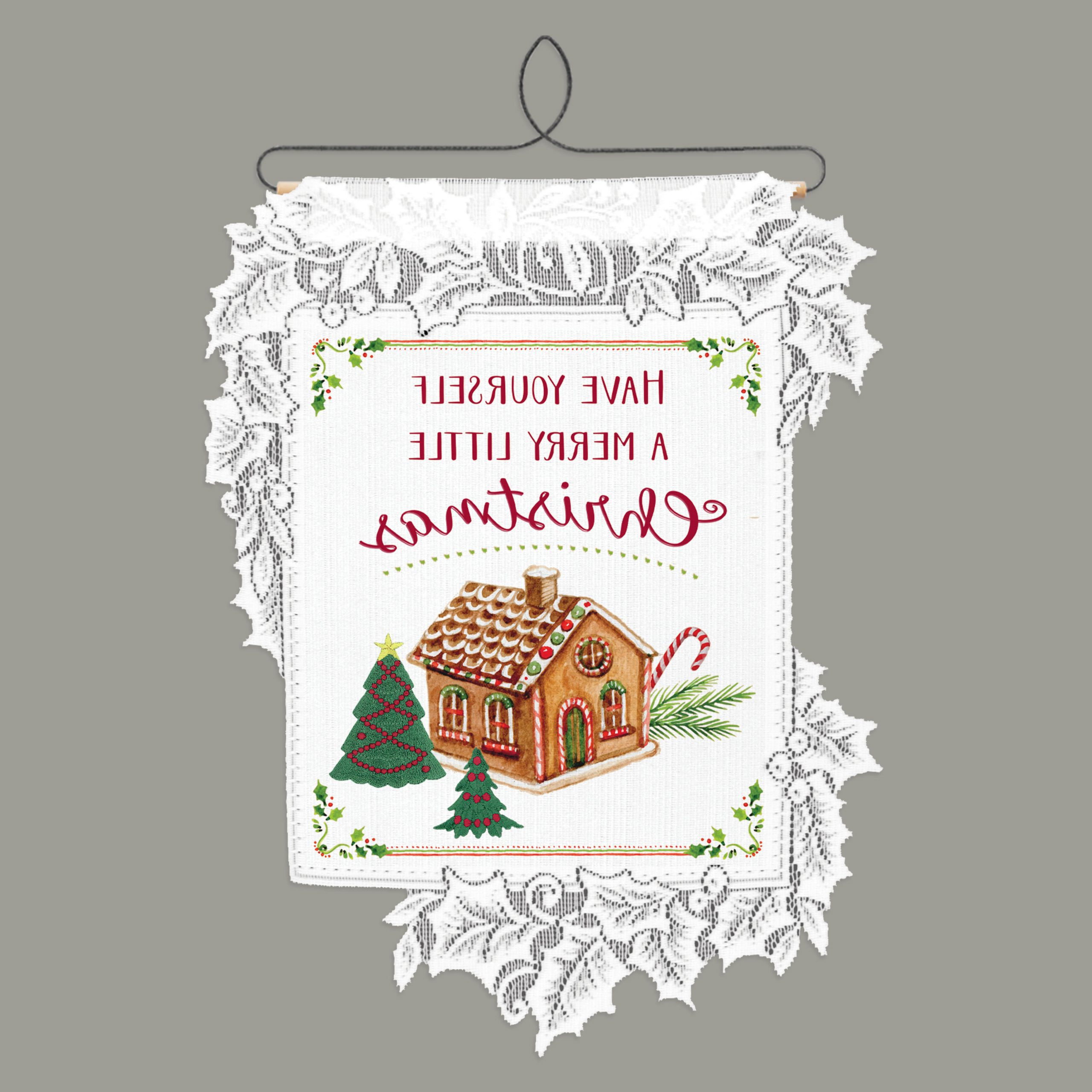 Preferred Blended Fabric Faraway Longing Wall Hangings Throughout Merry Little Christmaskate Ward Thacker Wall Hanging (View 6 of 20)