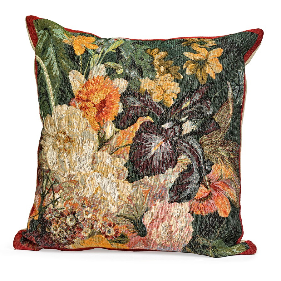 Preferred Blended Fabric Irises Tapestries For Iris Tapestry Pillow (View 6 of 20)