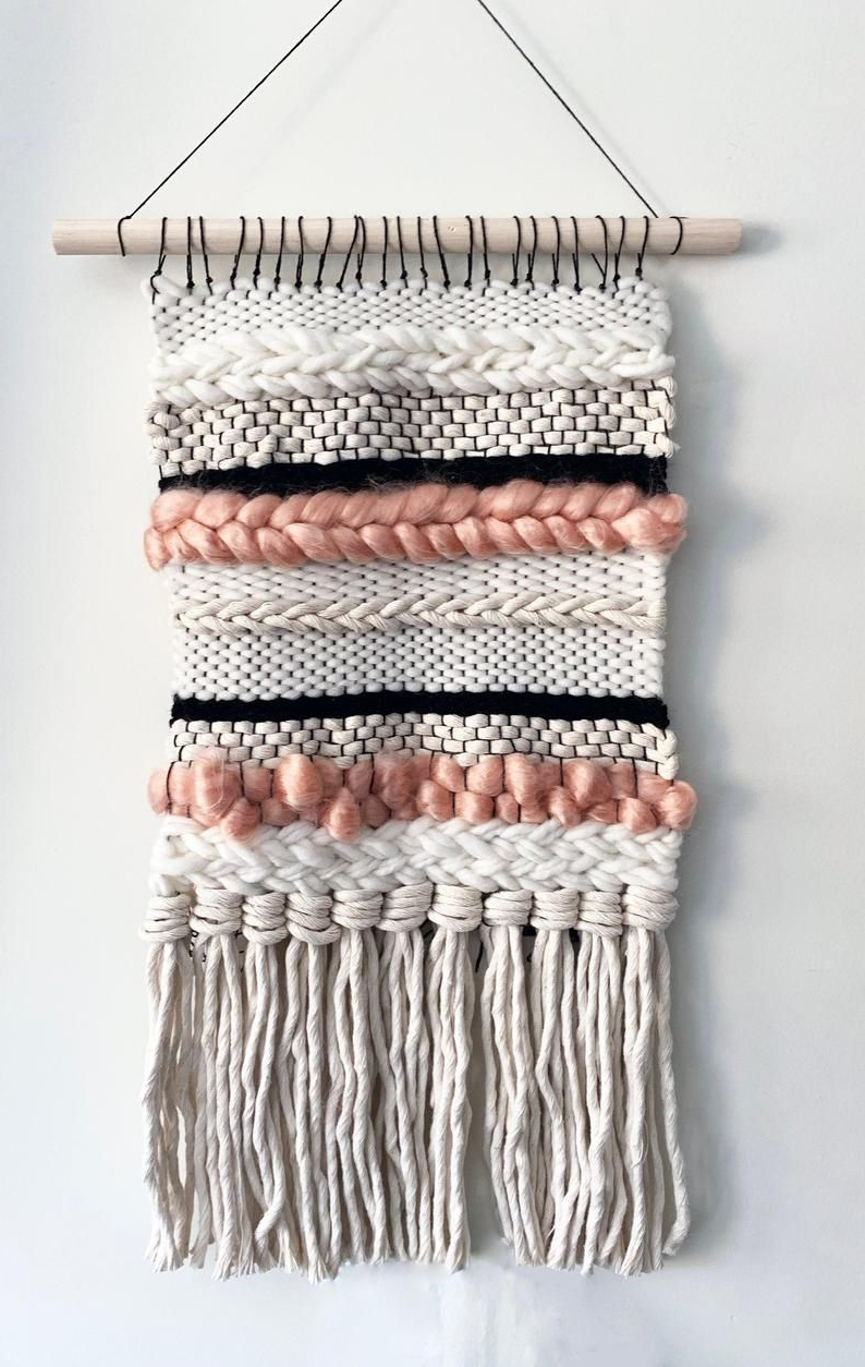 Preferred Hand Woven Wall Hanging (View 15 of 20)