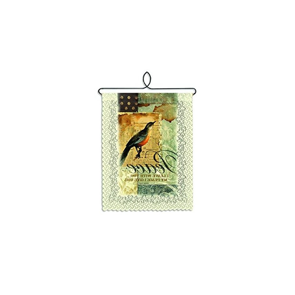 Preferred Heritage Lace Wh79c 0839 Peace I Give Wall Hanging – Cafe On Throughout Peace I Leave With You Wall Hangings (View 18 of 20)