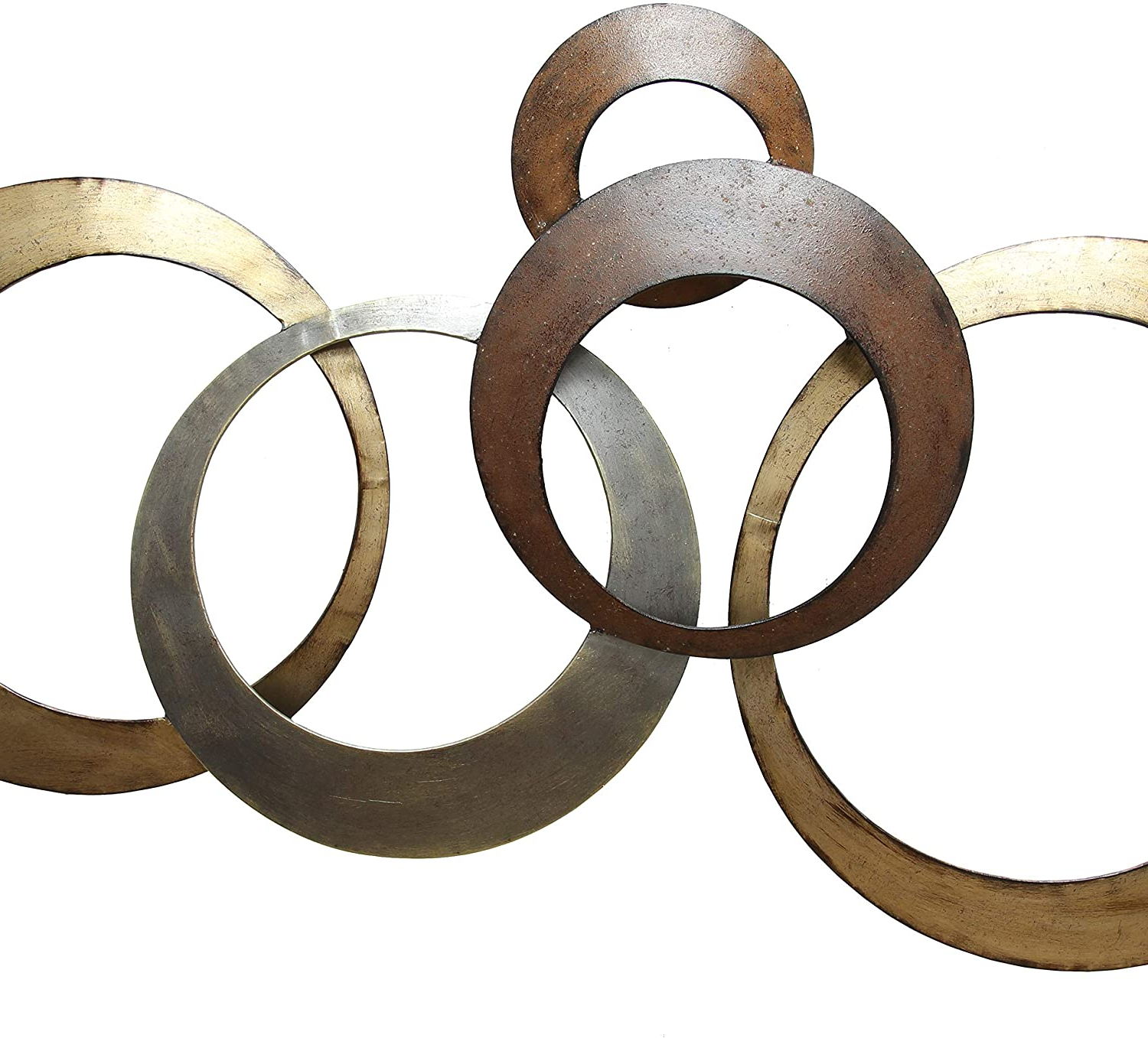 Preferred Rings Wall Décor By Stratton Home Decor Inside Stratton Home Decor Spc 999 Centerpiece, 37.99 Wx 1.97 Dx (View 6 of 20)