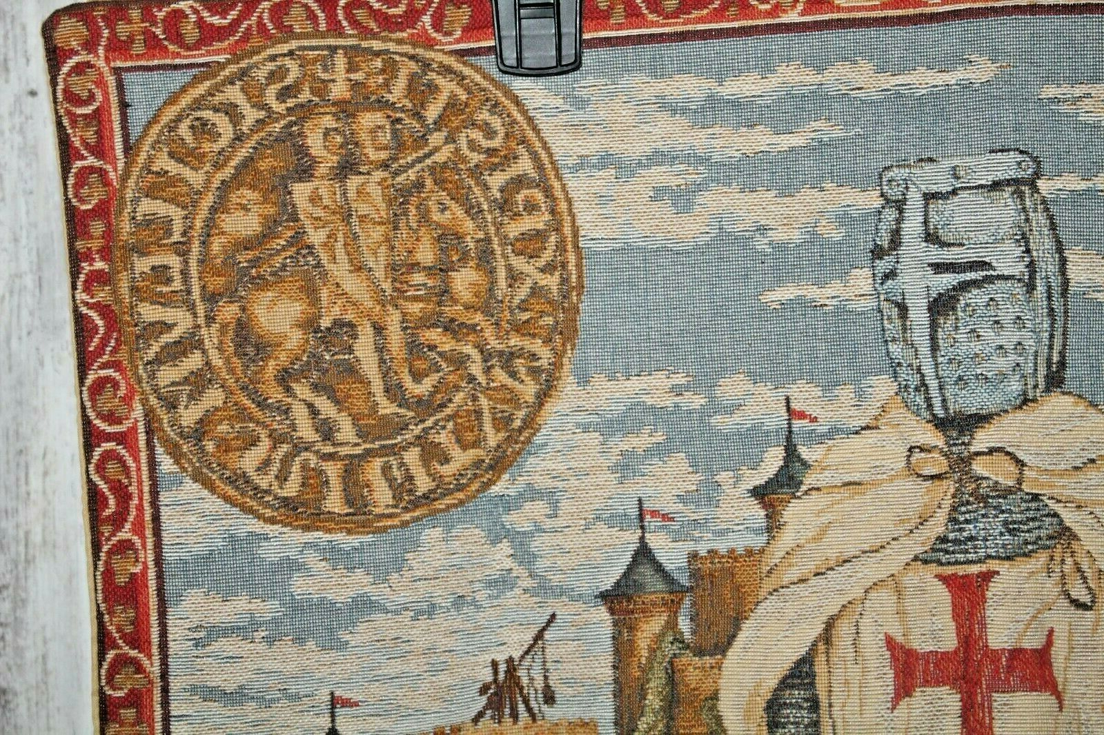 """Recent Blended Fabric Aladin European Wall Hangings With Flemish / Belgian Tapestry, Azay Le Rideau Chateau, 76"""" X (View 14 of 20)"""