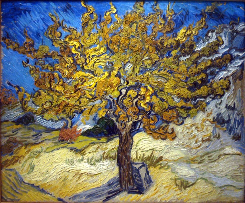 Recent Blended Fabric The Mulberry Tree – Van Gogh Wall Hangings Throughout Mustard Seed Faith (View 8 of 20)
