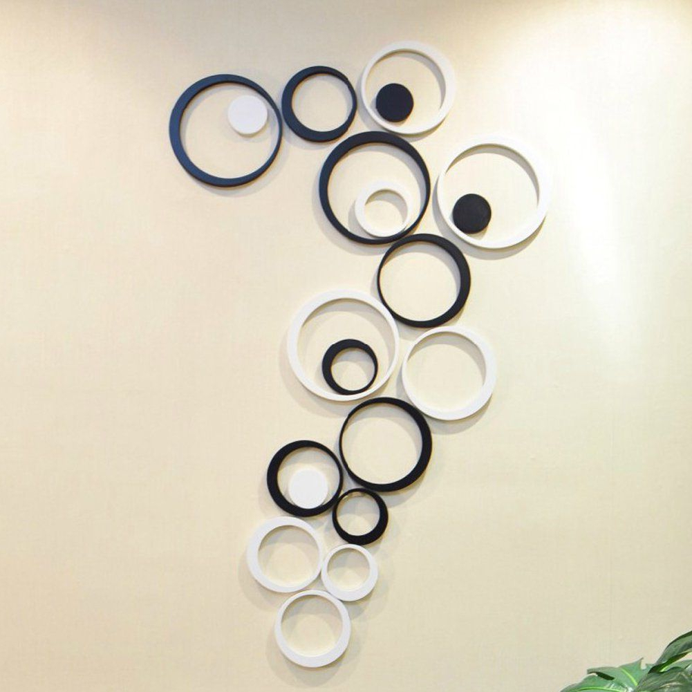 Recent Pin On Home Diy Wall Pertaining To Rings Wall Décor (View 13 of 20)