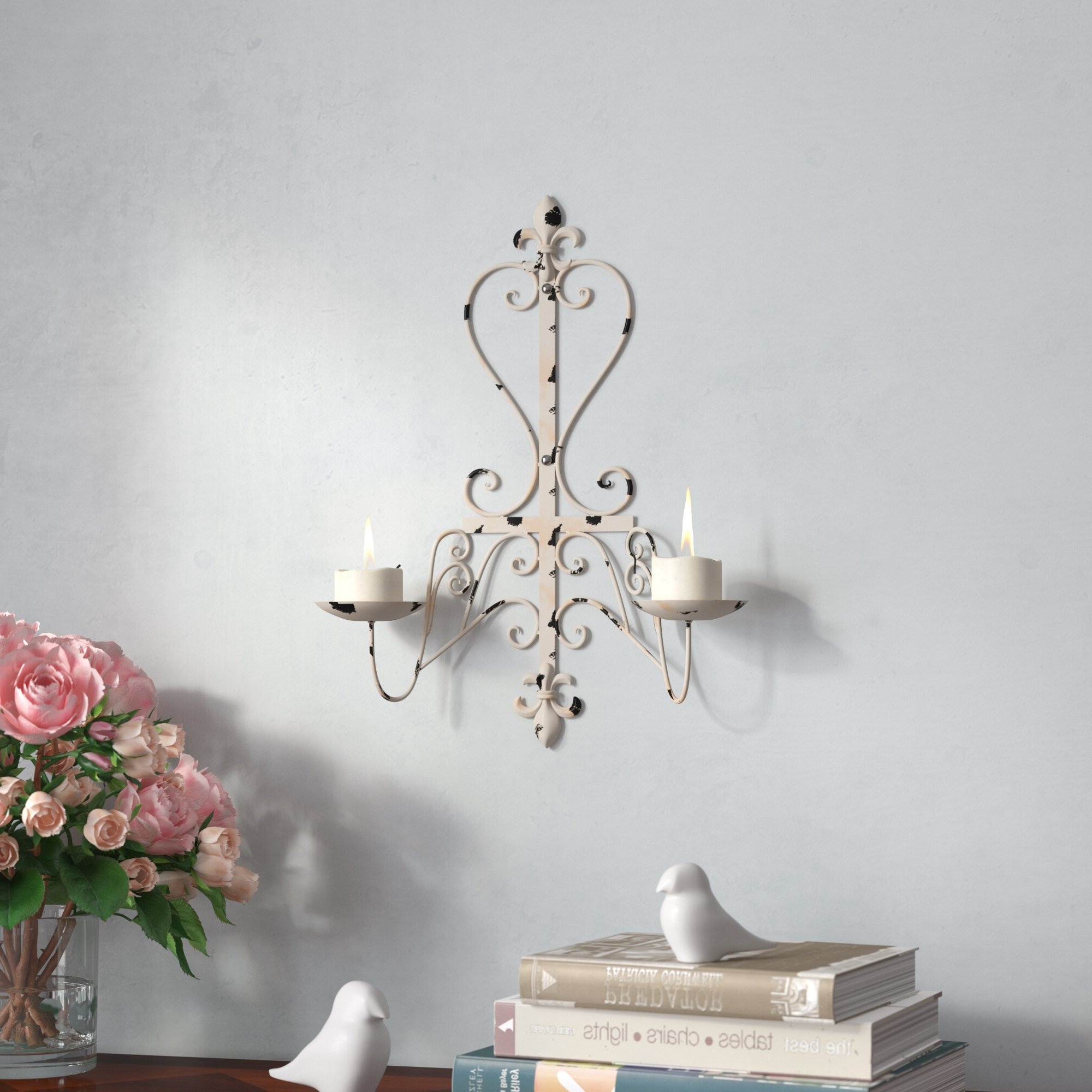 Recent Scroll Wall Décor By Fleur De Lis Living For Garden Fleur De Lis Wall Decor Scrolls Iron Work Shabby And (View 15 of 20)