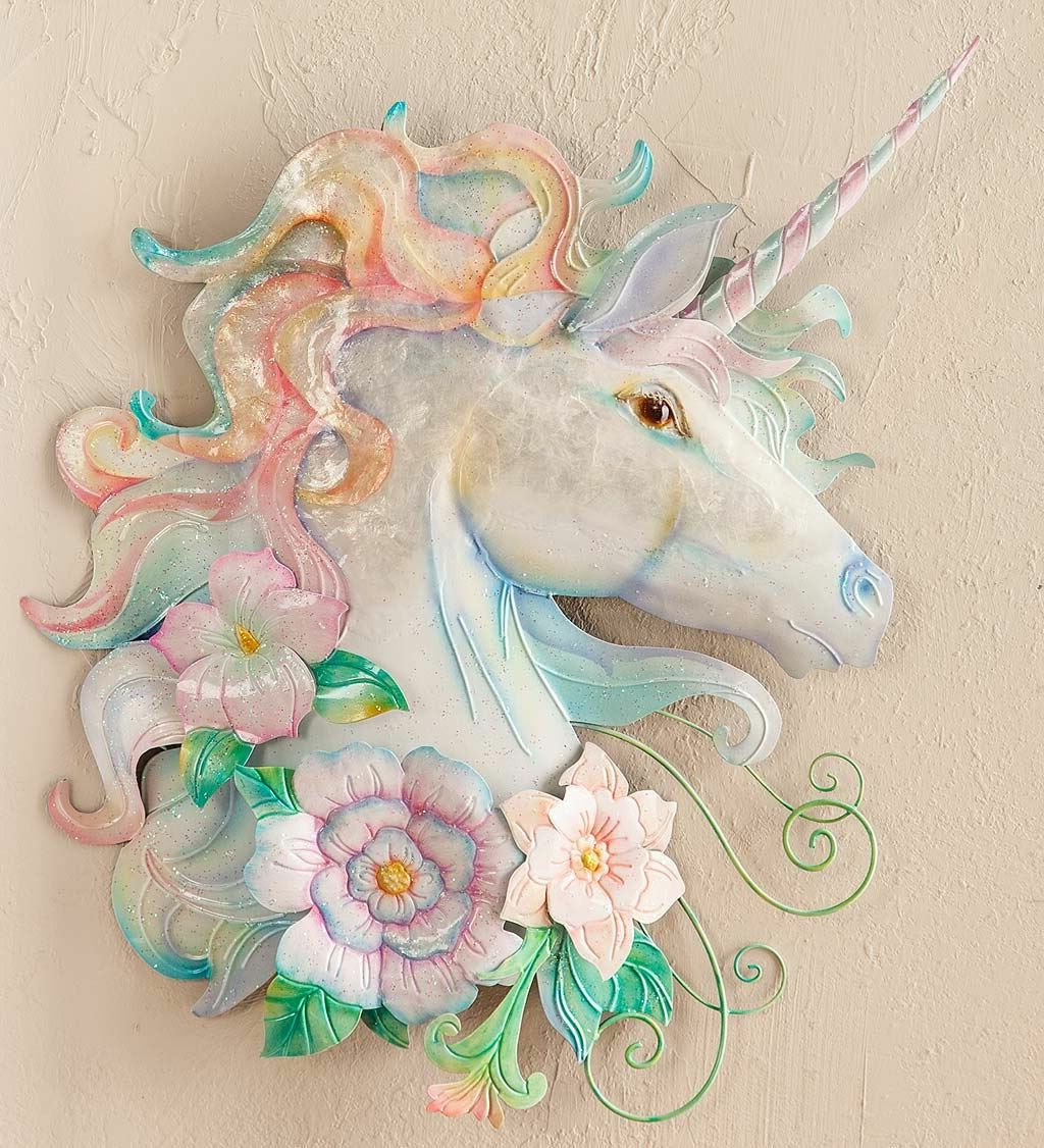 Recent Unicorn Metal And Capiz Wall Décor For Metal Capiz Wall Decor By Wrought Studio (View 4 of 20)
