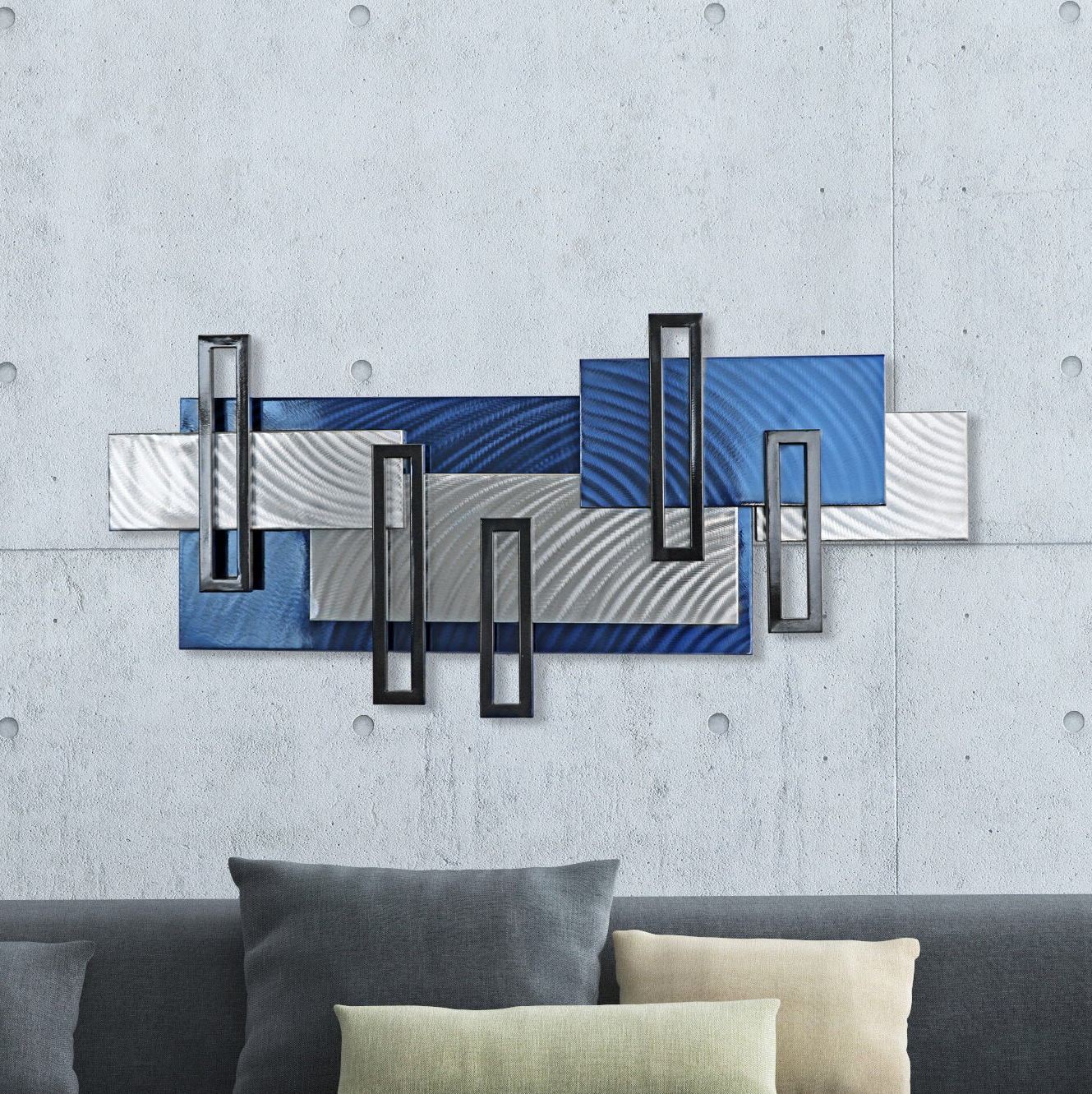 Recent Wall Décor By Brayden Studio Pertaining To Monoliths Metal Wall Décor (View 12 of 20)