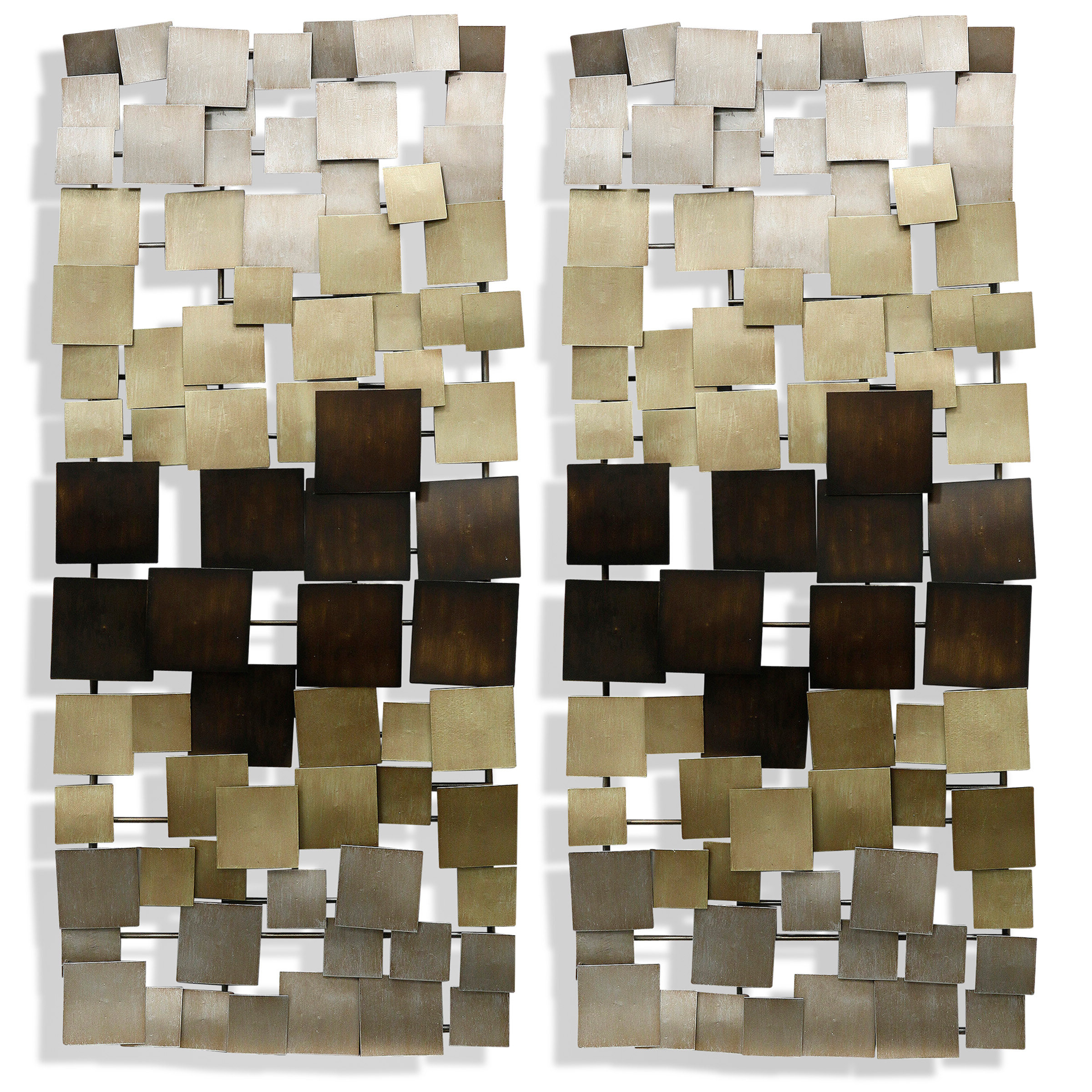 Recent Wall Décor By Latitude Run Intended For Gold Latitude Run® Metal Wall Decor You'll Love In (View 4 of 20)