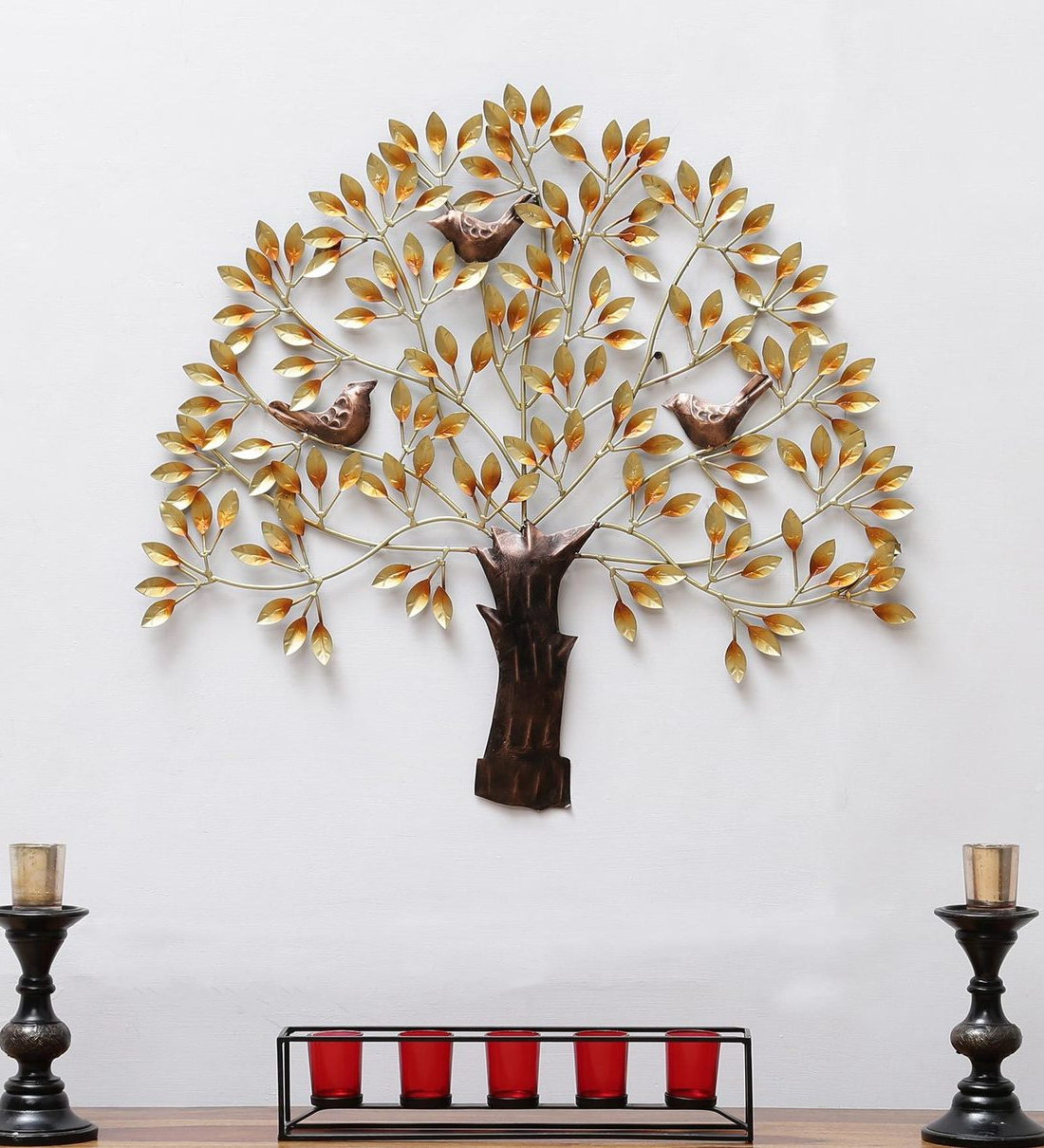 Recent Wrought Iron Birds On Tree In Copper Wall Art For Copper Rustic Iron Wall Décor (View 16 of 20)