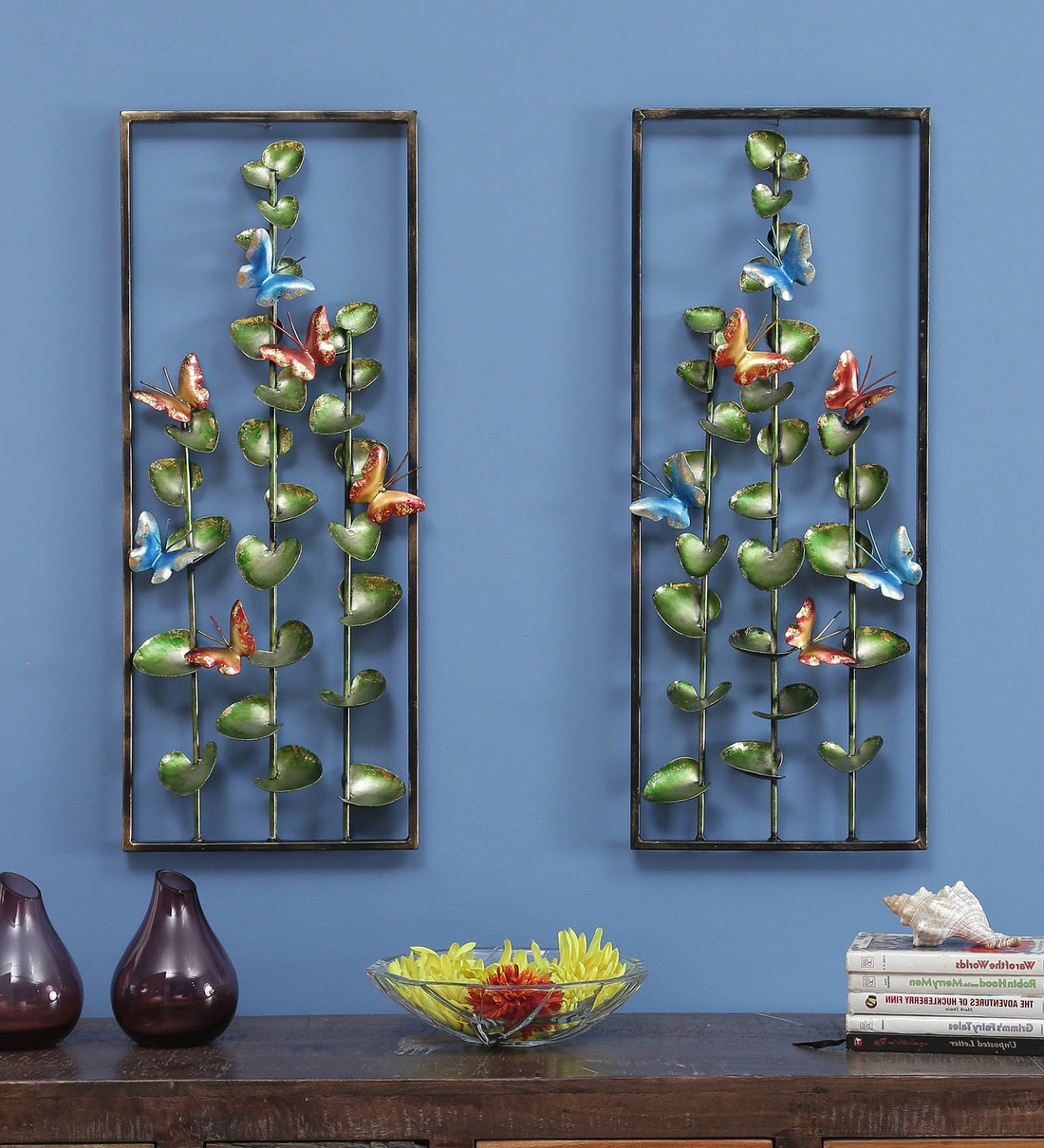 Recent Wrought Iron Decorative In Multicolour Set Of 2 Wall Art With Regard To 2 Piece Starburst Wall Décor Set By Wrought Studio (View 18 of 20)
