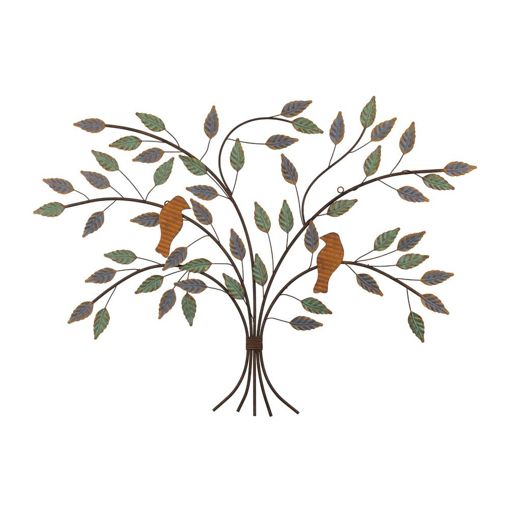 Regal Rustic Tree Of Life Wall Decor 12059 – The Home Depot Throughout Recent Tree Branch Wall Décor By Fleur De Lis Living (View 9 of 20)