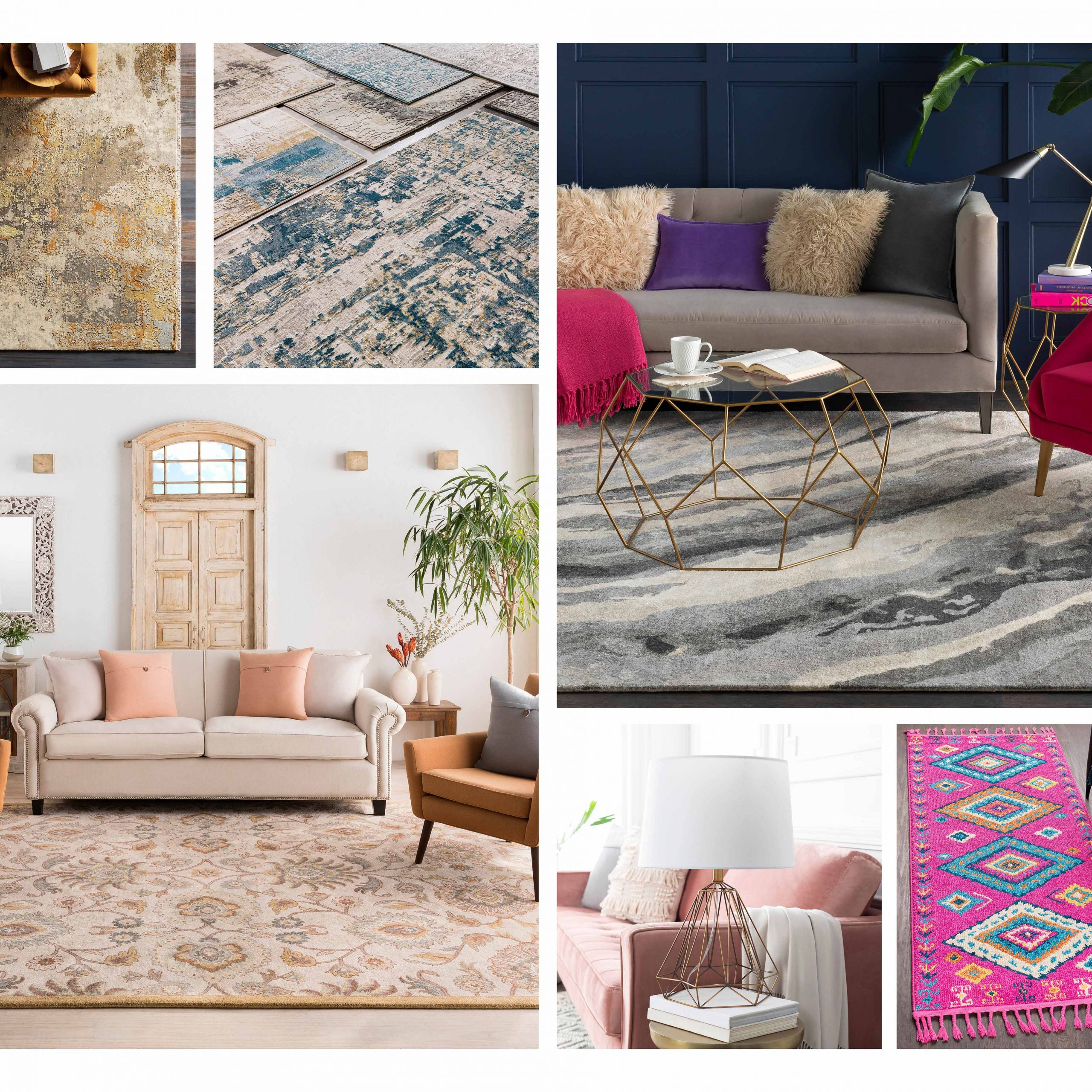 Rugs, Lighting, Pillows, Wall Decor, Accent (View 16 of 20)