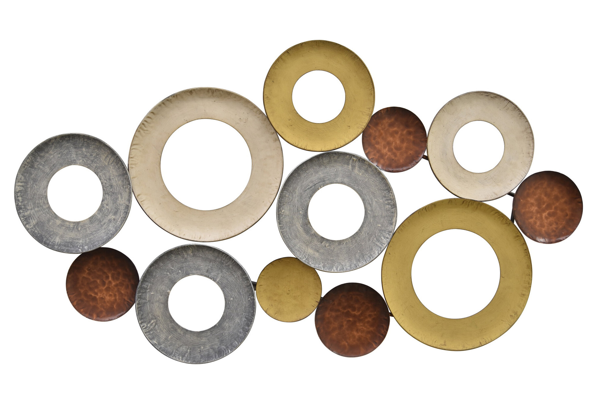 Rustic Metal Wall Décor By Winston Porter In Most Popular Metal Wall Décor (View 4 of 20)