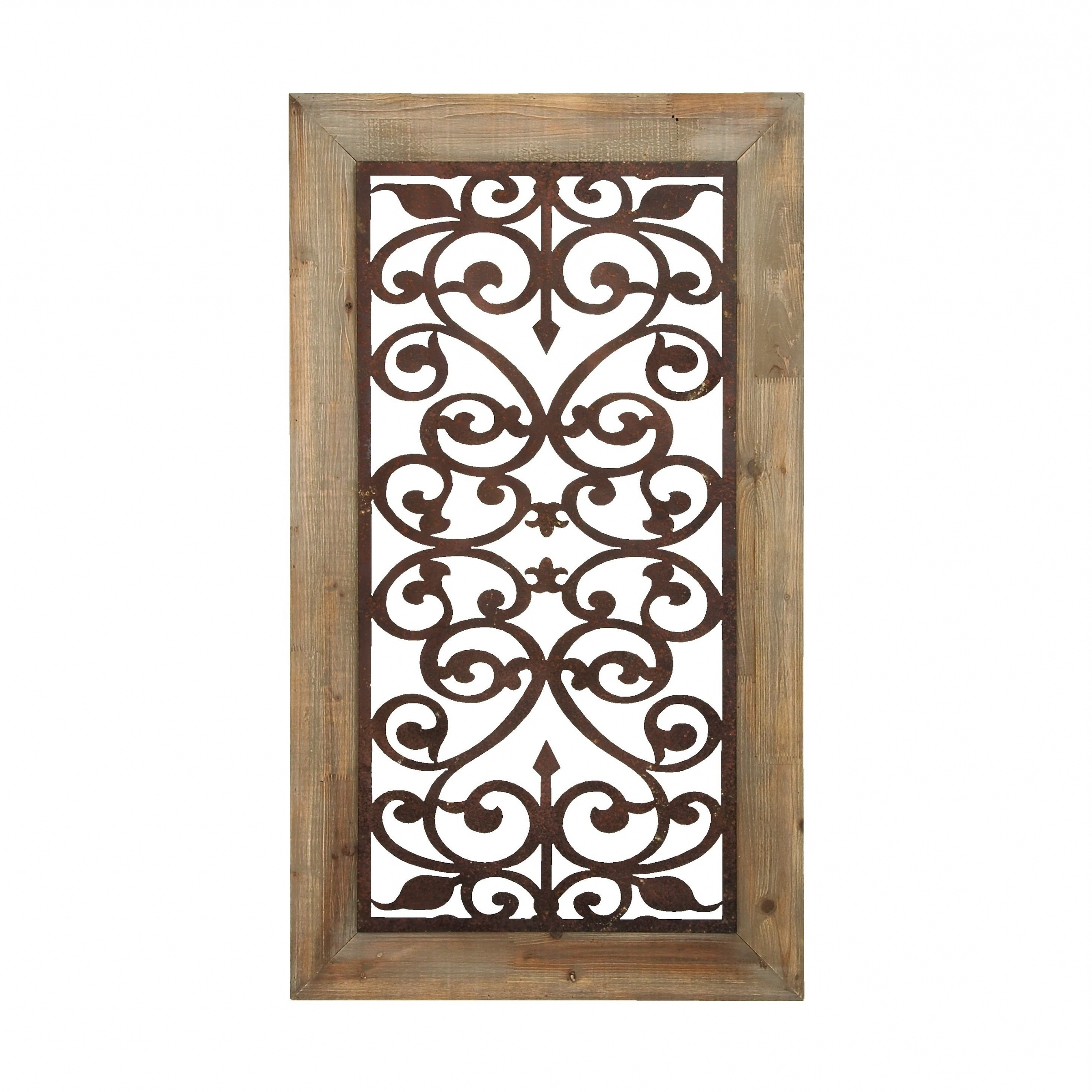 Scroll Wall Décor By Fleur De Lis Living With Most Recently Released Iron Scroll Wall Art – Ideas On Foter (View 19 of 20)