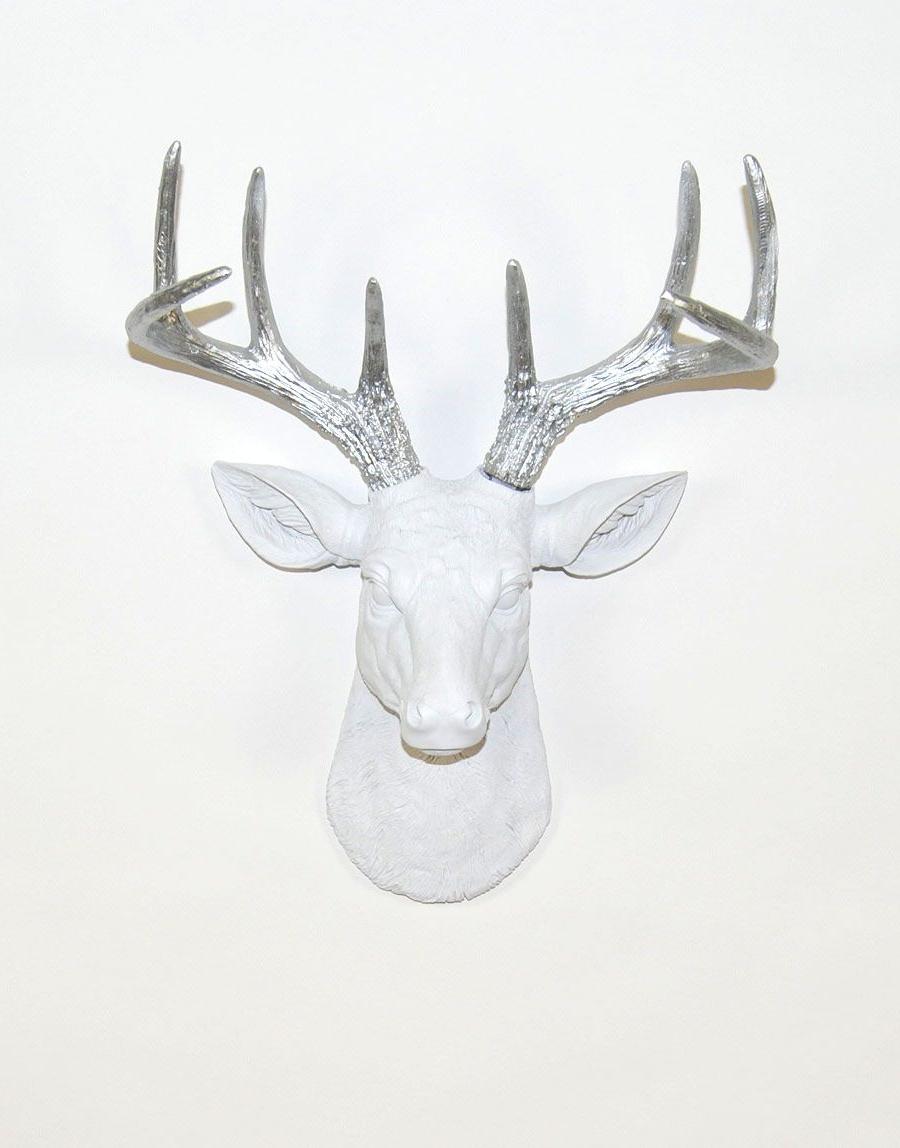 Stag Deer Head (View 5 of 20)