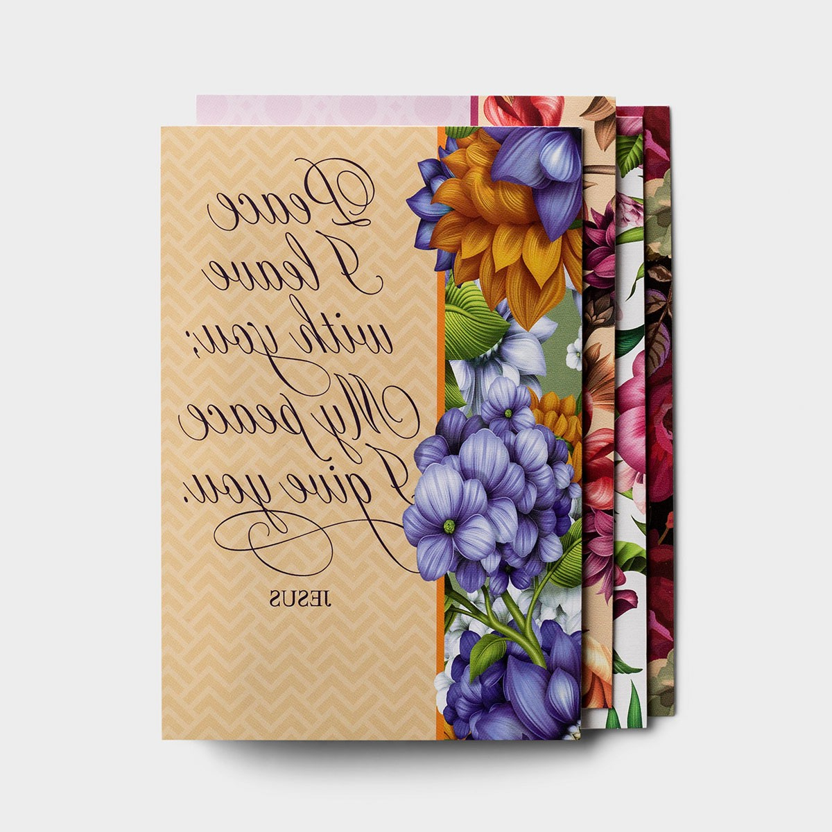 Sympathy – Peace I Leave With You – 12 Boxed Cards – Kjv Intended For Latest Peace I Leave With You Wall Hangings (View 14 of 20)