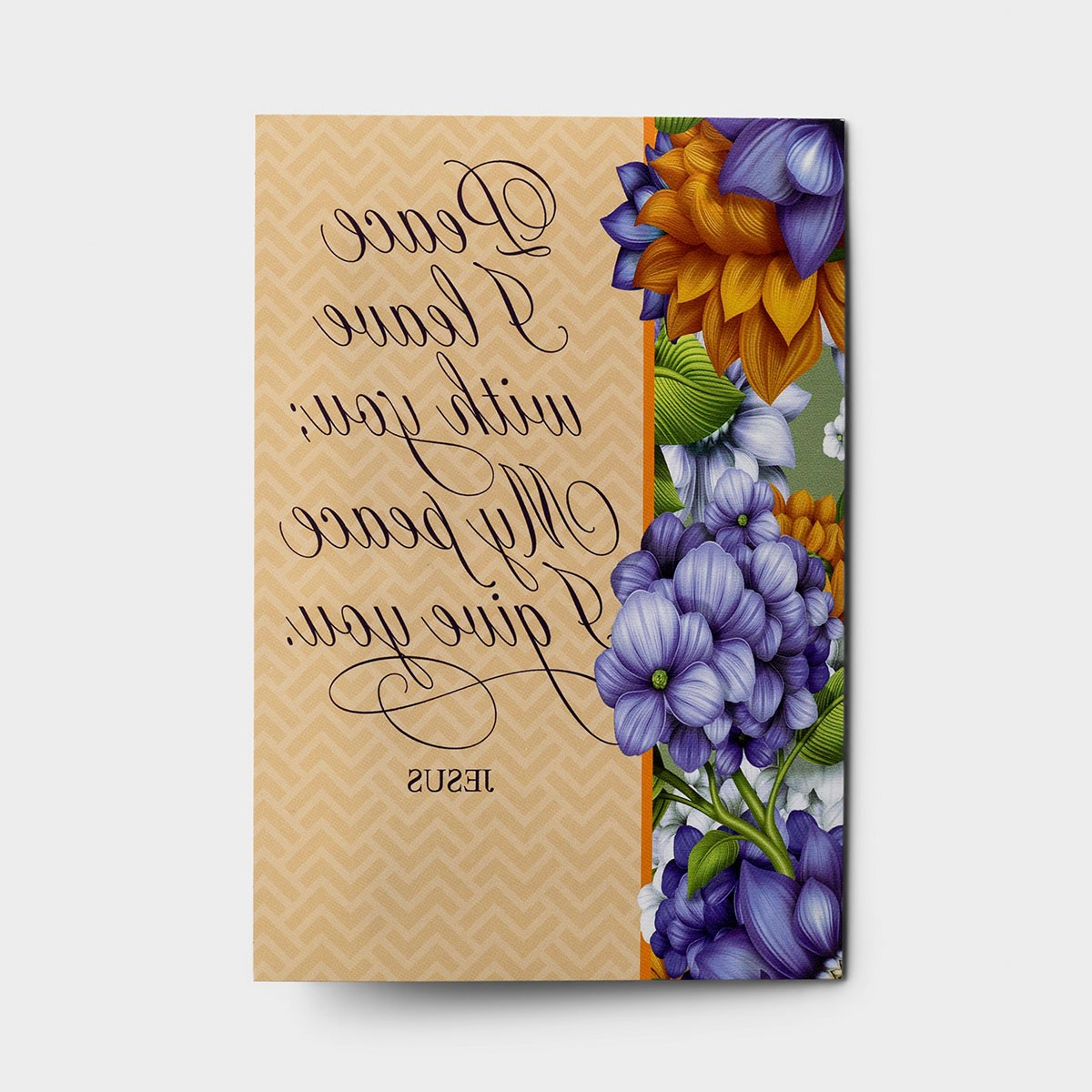 Sympathy – Peace I Leave With You – 12 Boxed Cards – Kjv With Widely Used Peace I Leave With You Wall Hangings (View 11 of 20)