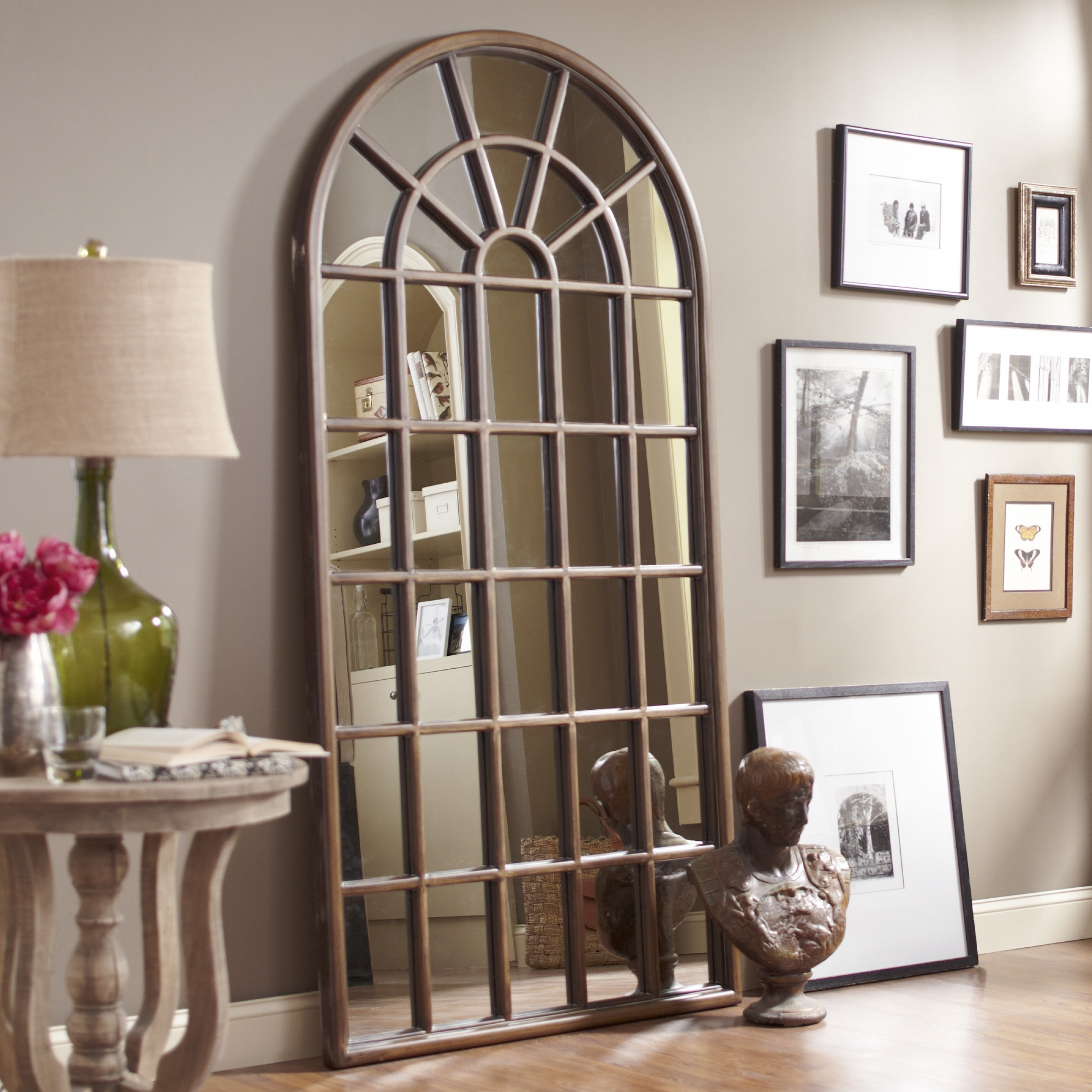 Tall Cross Rust Wall Décor In Most Current Arched Wall Mirrors – Ideas On Foter (View 19 of 20)
