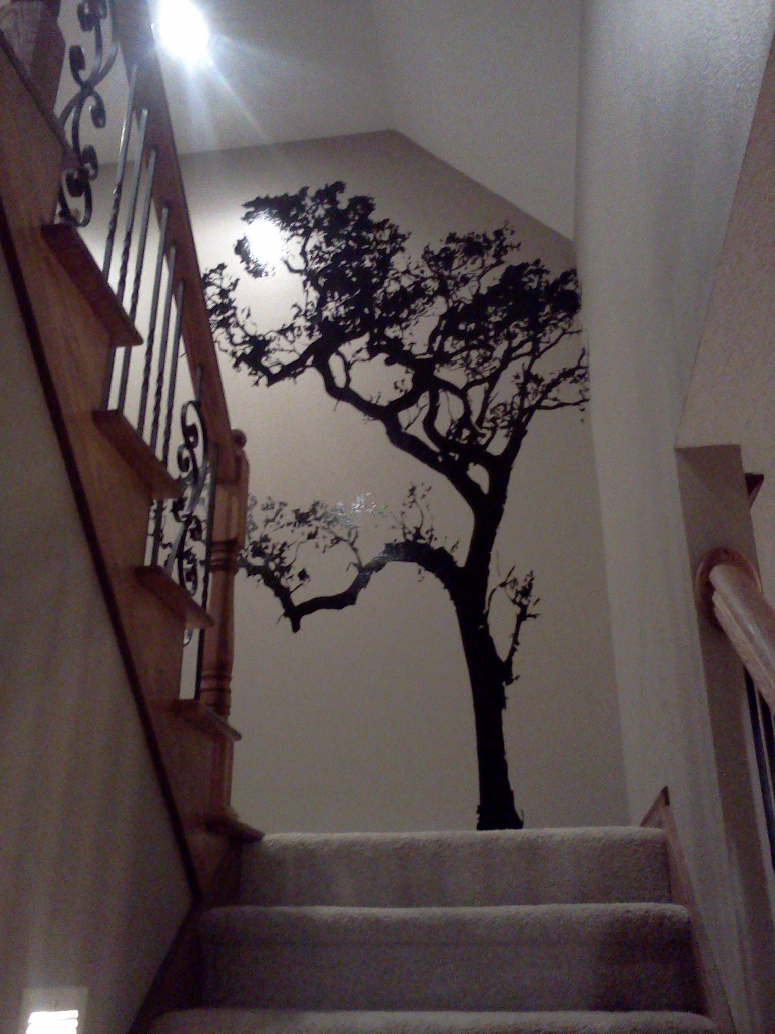 Tall Tree Wall Decals – Ideas On Foter In Favorite Family Themed Creative Metal Wall Décor (View 14 of 20)