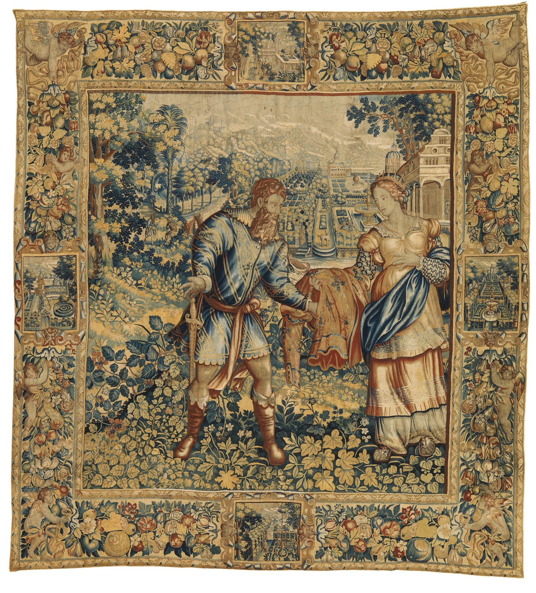 Tapestry, Art, Medieval Tapestry For Blended Fabric Saint Joseph European Tapestries (View 12 of 20)