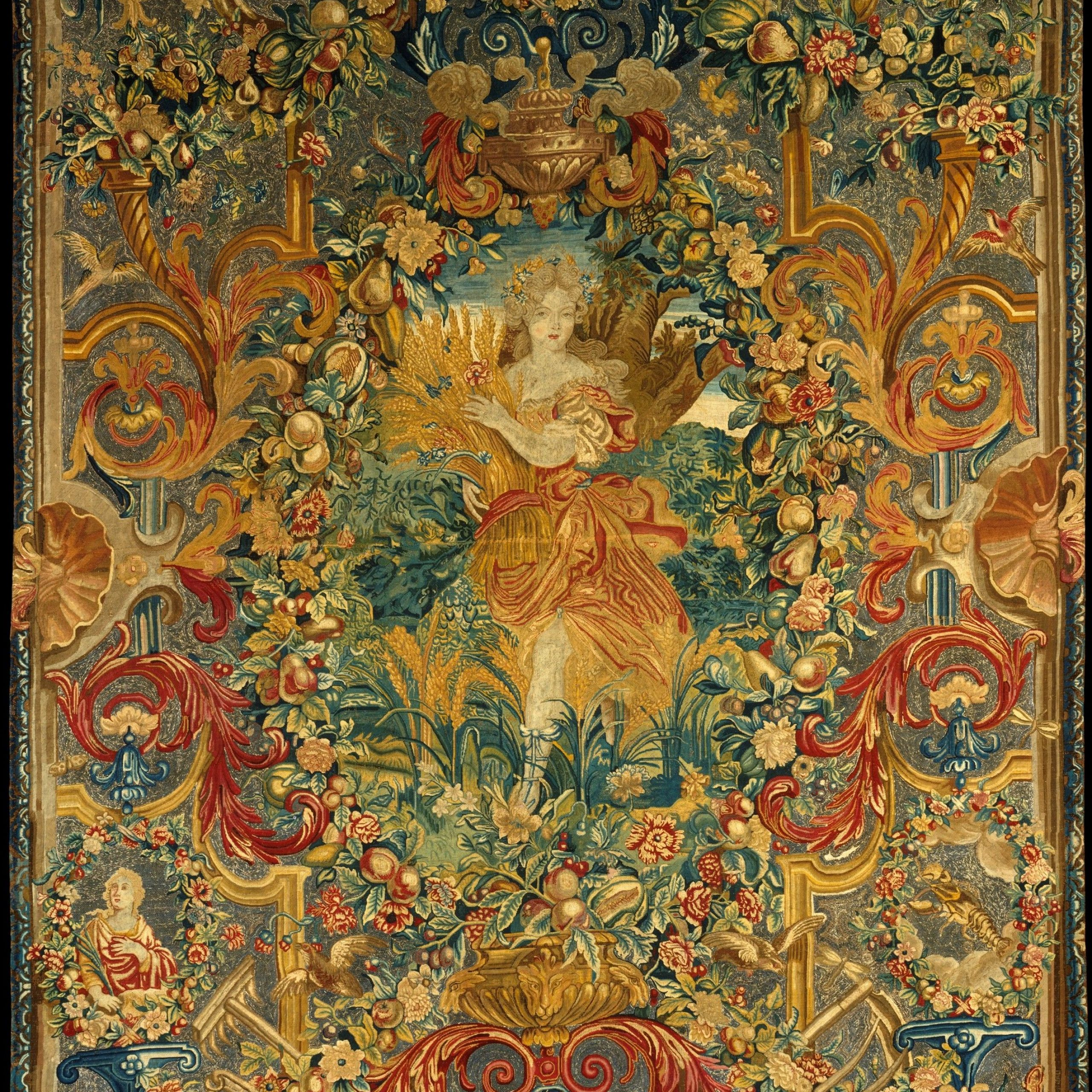 Tapestry, Art, Medieval Tapestry In Latest Blended Fabric Saint Joseph European Tapestries (View 17 of 20)