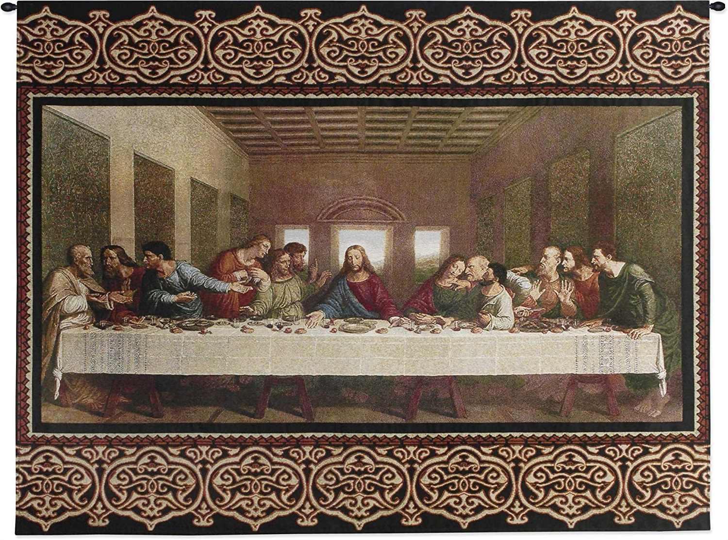 [%the Last Supperleonardo Da Vinci | Woven Tapestry Wall Art Hanging | Religious Inspirational Jesus Last Supper | 100% Cotton Usa Size 53x40 With 2020 Blended Fabric Garden Of Gethsemane Tapestries And Wall Hangings|blended Fabric Garden Of Gethsemane Tapestries And Wall Hangings In Recent The Last Supperleonardo Da Vinci | Woven Tapestry Wall Art Hanging | Religious Inspirational Jesus Last Supper | 100% Cotton Usa Size 53x40|preferred Blended Fabric Garden Of Gethsemane Tapestries And Wall Hangings For The Last Supperleonardo Da Vinci | Woven Tapestry Wall Art Hanging | Religious Inspirational Jesus Last Supper | 100% Cotton Usa Size 53x40|2019 The Last Supperleonardo Da Vinci | Woven Tapestry Wall Art Hanging | Religious Inspirational Jesus Last Supper | 100% Cotton Usa Size 53x40 For Blended Fabric Garden Of Gethsemane Tapestries And Wall Hangings%] (View 6 of 20)
