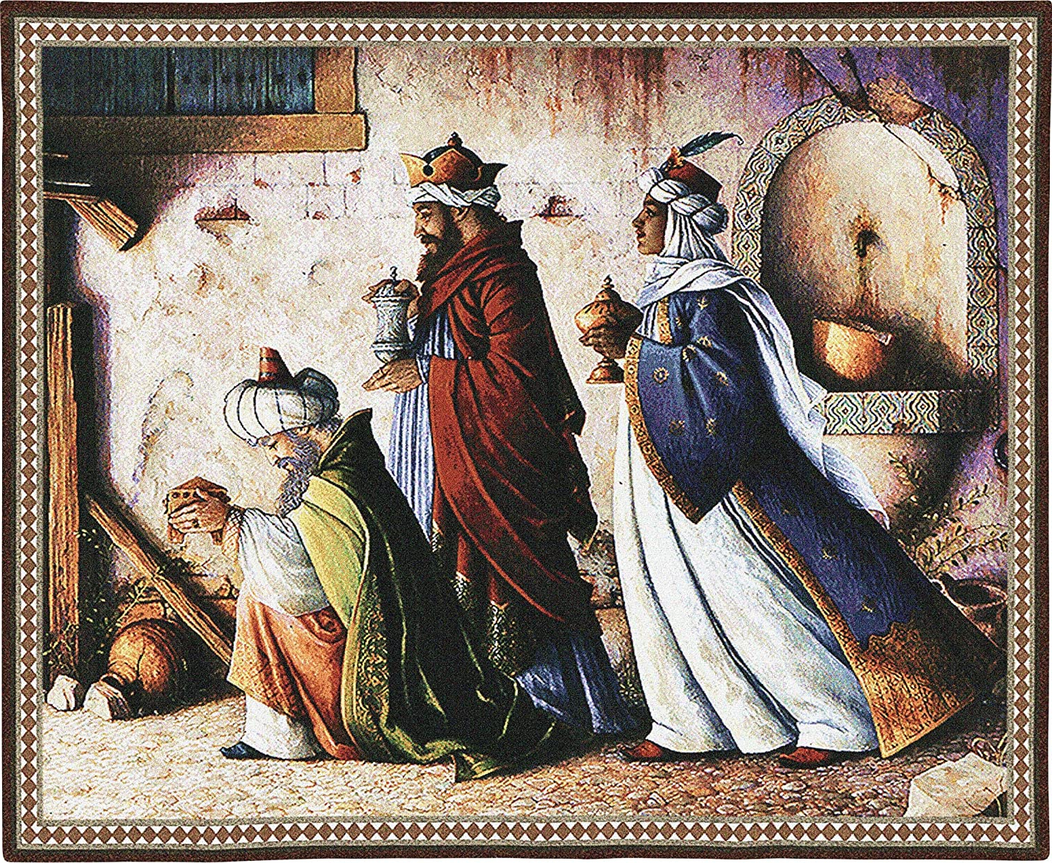 [%three Kingsstewart Sherwood | Woven Tapestry Wall Art Hanging | Christian Nativity Wise Men Scene | 100% Cotton Usa Size 32x26 Pertaining To Best And Newest Blended Fabric Garden Of Gethsemane Tapestries And Wall Hangings|blended Fabric Garden Of Gethsemane Tapestries And Wall Hangings Within Most Recent Three Kingsstewart Sherwood | Woven Tapestry Wall Art Hanging | Christian Nativity Wise Men Scene | 100% Cotton Usa Size 32x26|fashionable Blended Fabric Garden Of Gethsemane Tapestries And Wall Hangings For Three Kingsstewart Sherwood | Woven Tapestry Wall Art Hanging | Christian Nativity Wise Men Scene | 100% Cotton Usa Size 32x26|latest Three Kingsstewart Sherwood | Woven Tapestry Wall Art Hanging | Christian Nativity Wise Men Scene | 100% Cotton Usa Size 32x26 Intended For Blended Fabric Garden Of Gethsemane Tapestries And Wall Hangings%] (View 5 of 20)