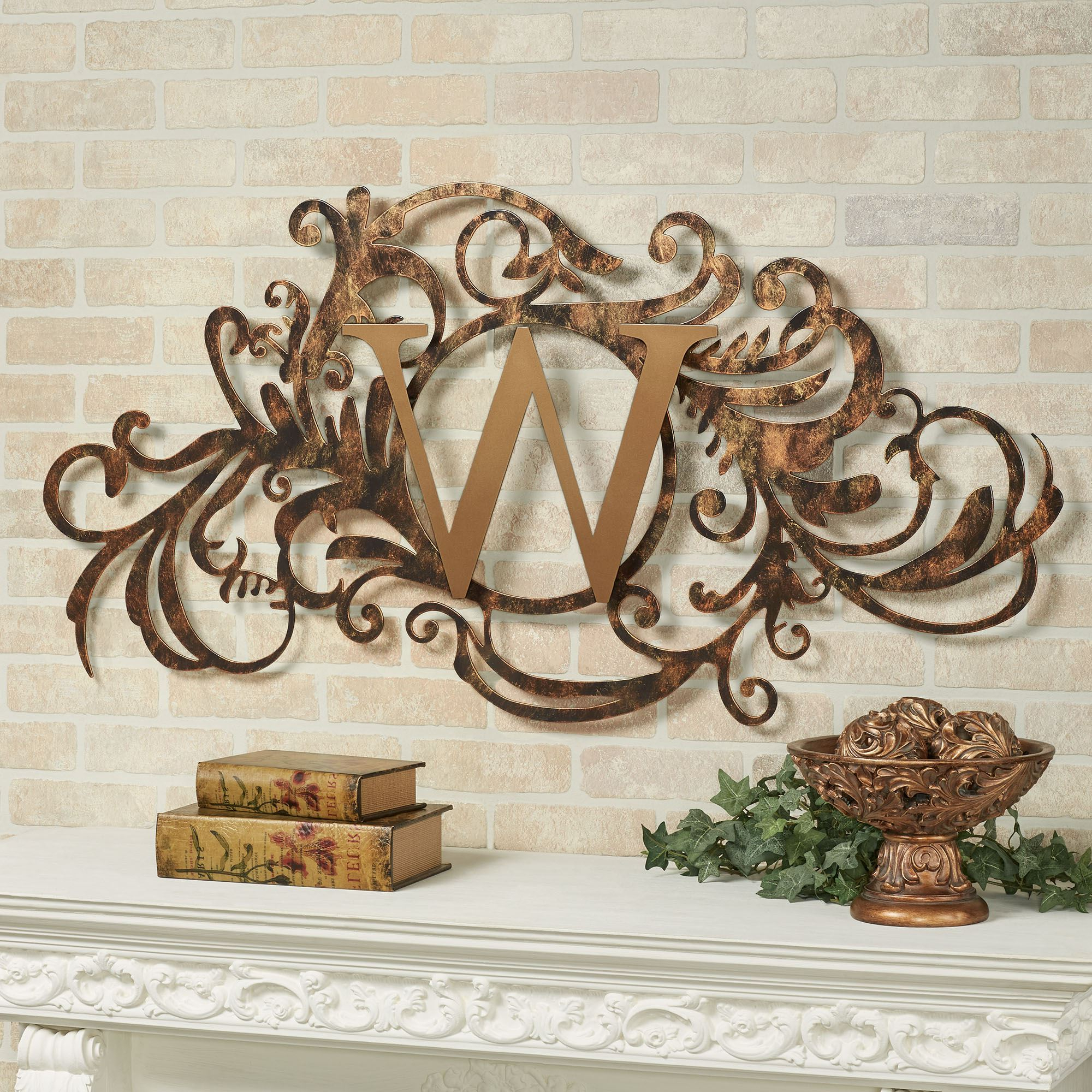 Traditional Metal Wall Plaque In Newest Evanston Indoor Outdoor Monogram Metal Wall Art Sign (View 17 of 20)