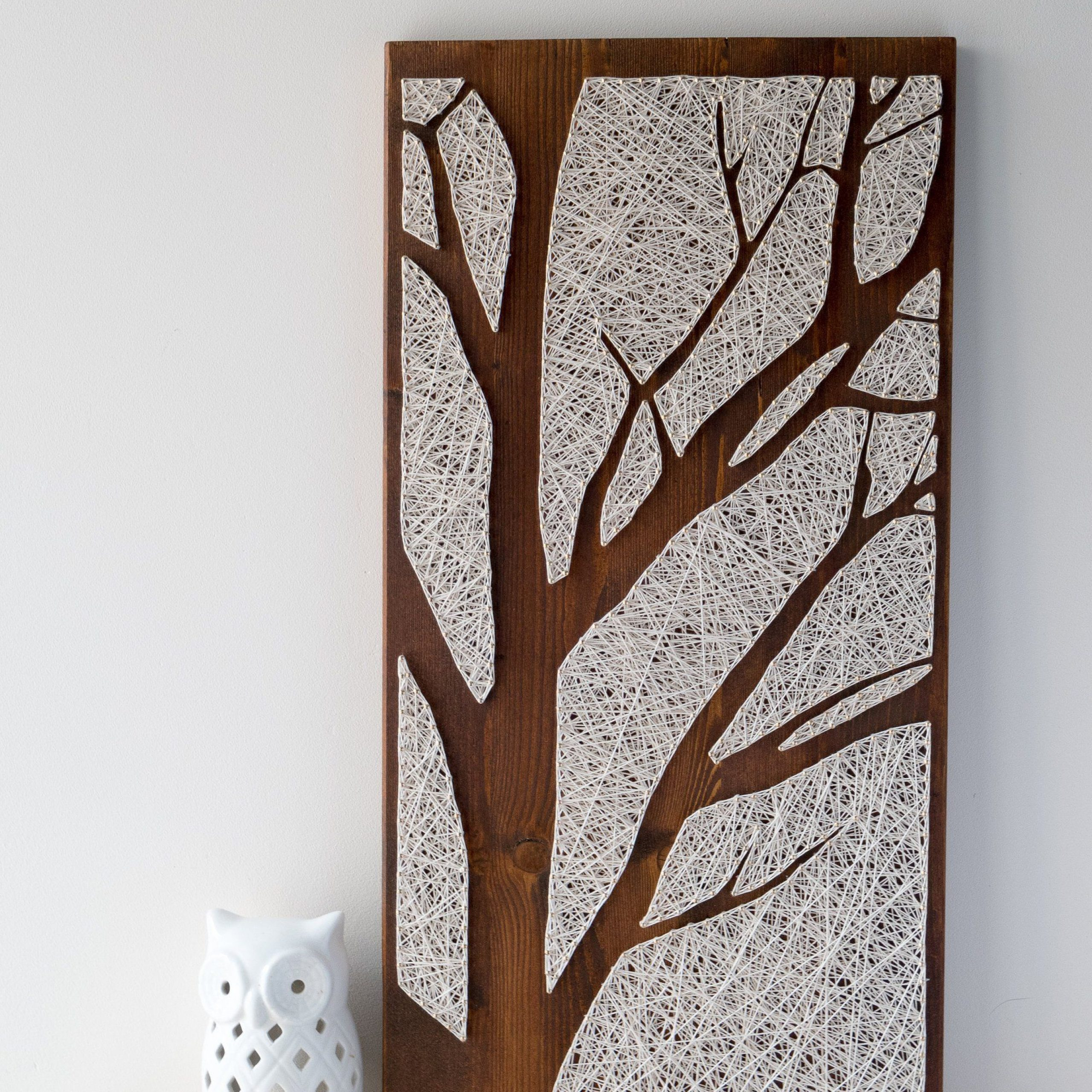 Tree Branch Wall Décor By Fleur De Lis Living Intended For Widely Used Pin On Featured Handmade Home Decor Curatedthe Handmade (View 14 of 20)