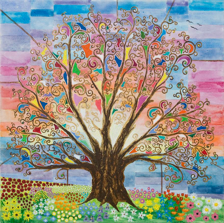 Tree Of Life #1 Paintingmark Betson (View 4 of 20)