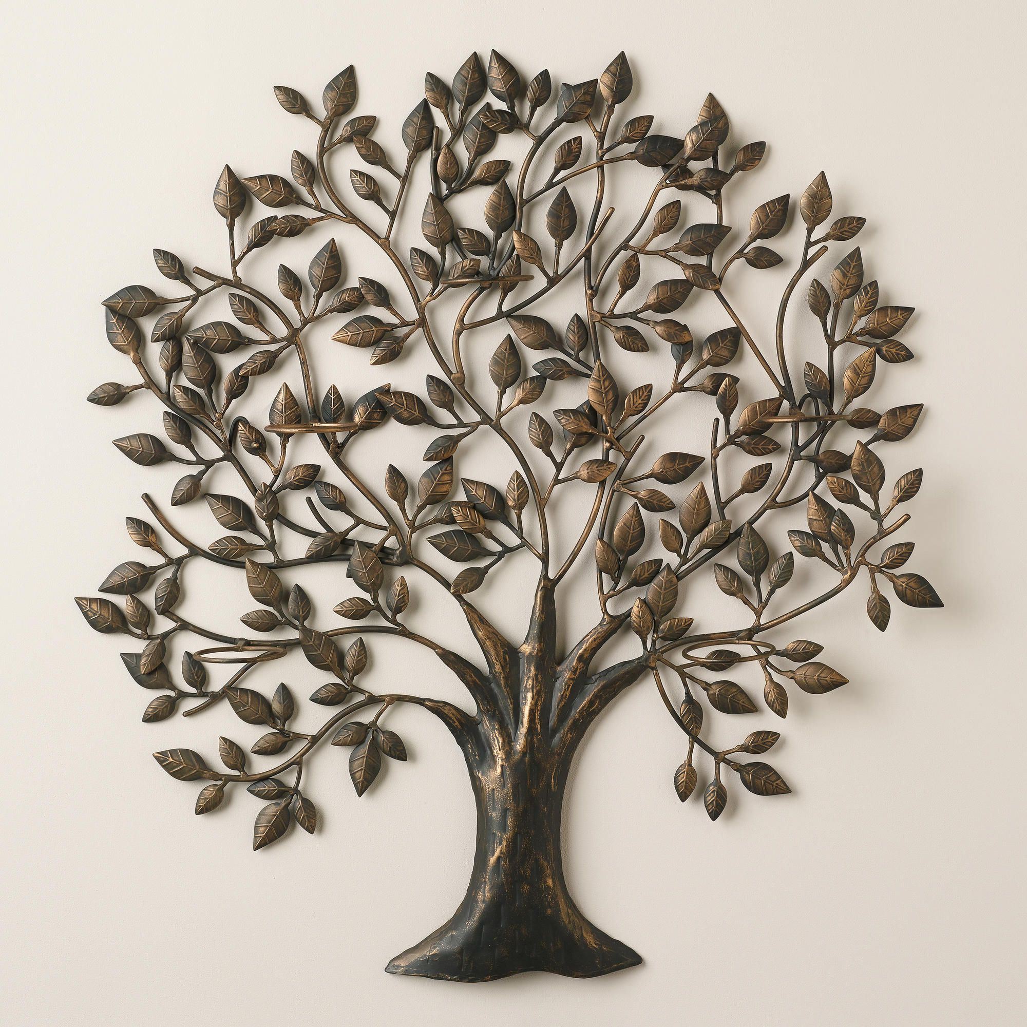 Tree Of Life Sconce Candleholder (View 17 of 20)
