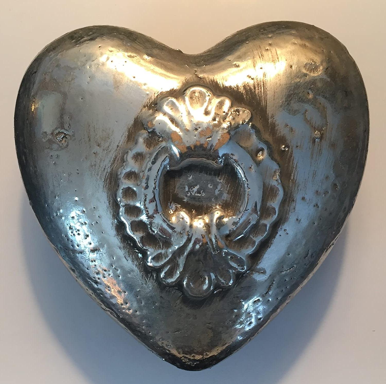 Trendy Amazon: Heart Shaped Wall Decor : Rustic Ceramic Heart Regarding Ceramic Rustic Wall Décor (View 6 of 20)