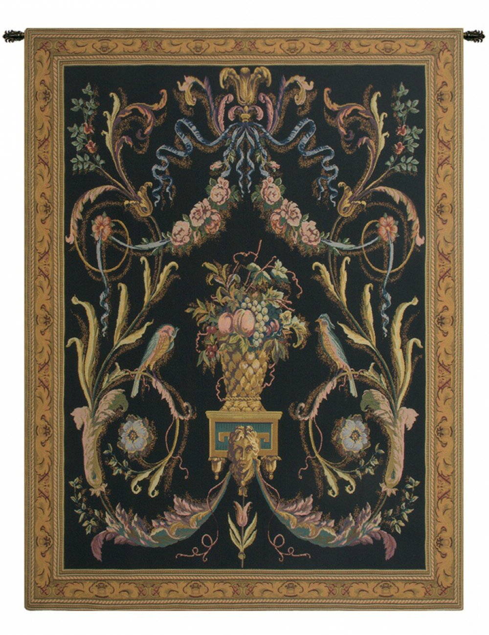 Trendy Blended Fabric Havenwood Chinoiserie Tapestries Rod Included Pertaining To Birds Tapestry (View 9 of 20)