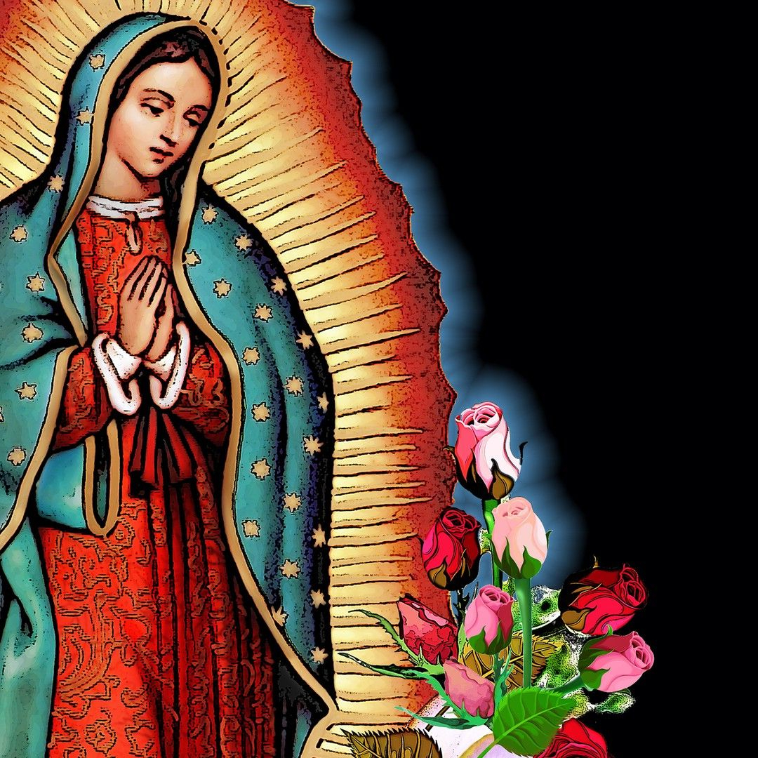 Trendy Blended Fabric Our Lady Of Guadalupe Wall Hangings Inside Modernmayaclothing Posted To Instagram: Our Lady Of (View 11 of 20)