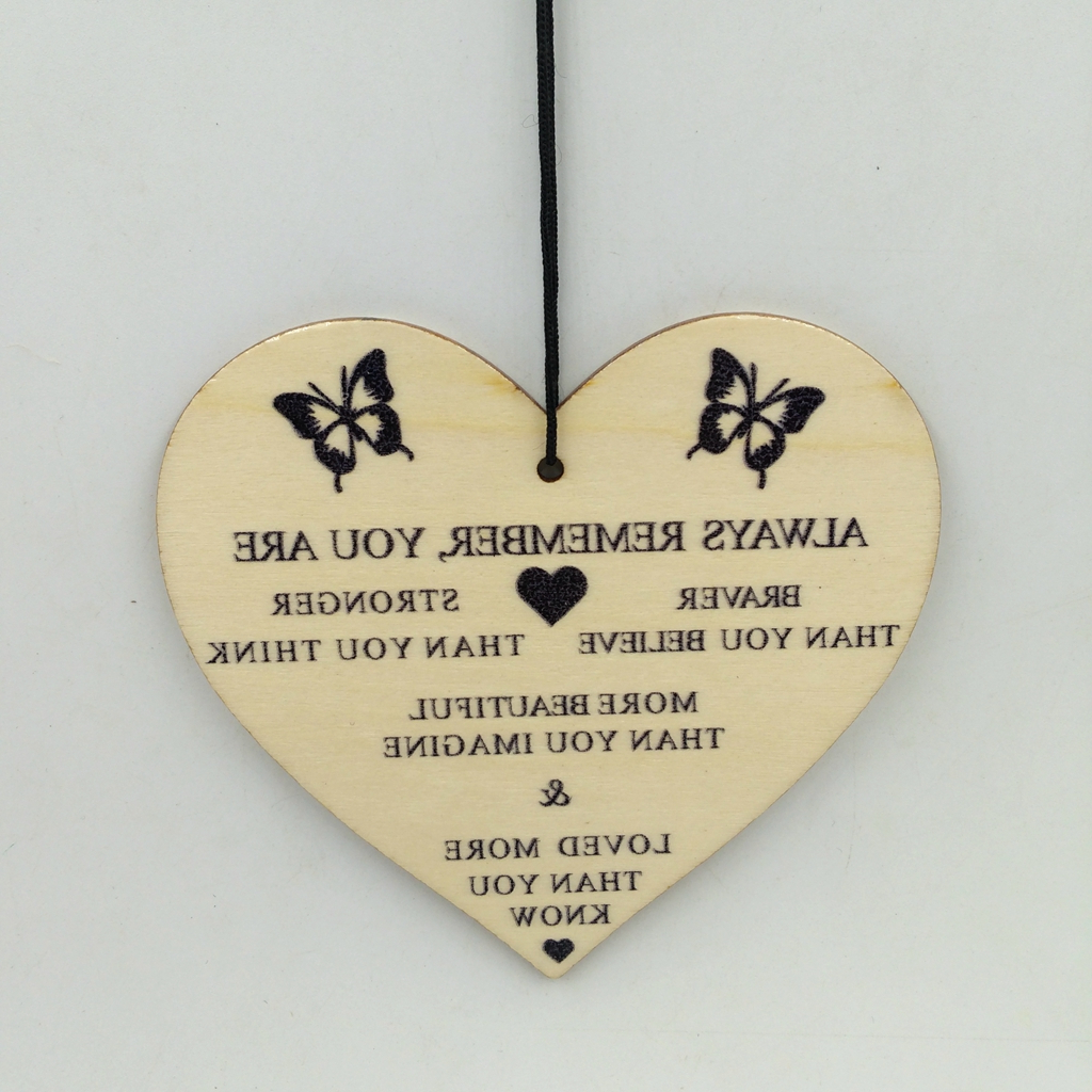 """Trendy Home Décor Cute Heart Shaped Novelty Sign Wooden Wall With Heart Shaped """"home"""" Sign Wall Décor (View 12 of 20)"""