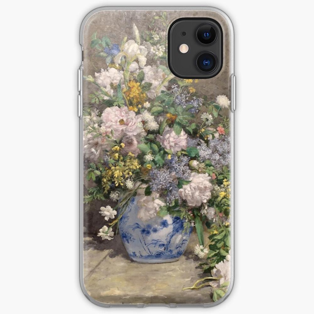 "Trendy Pierre Auguste Renoir (1841 1919) ""spring Bouquet"""" Mask Regarding Blended Fabric Spring Bouquet By Renoir Tapestries (View 12 of 20)"