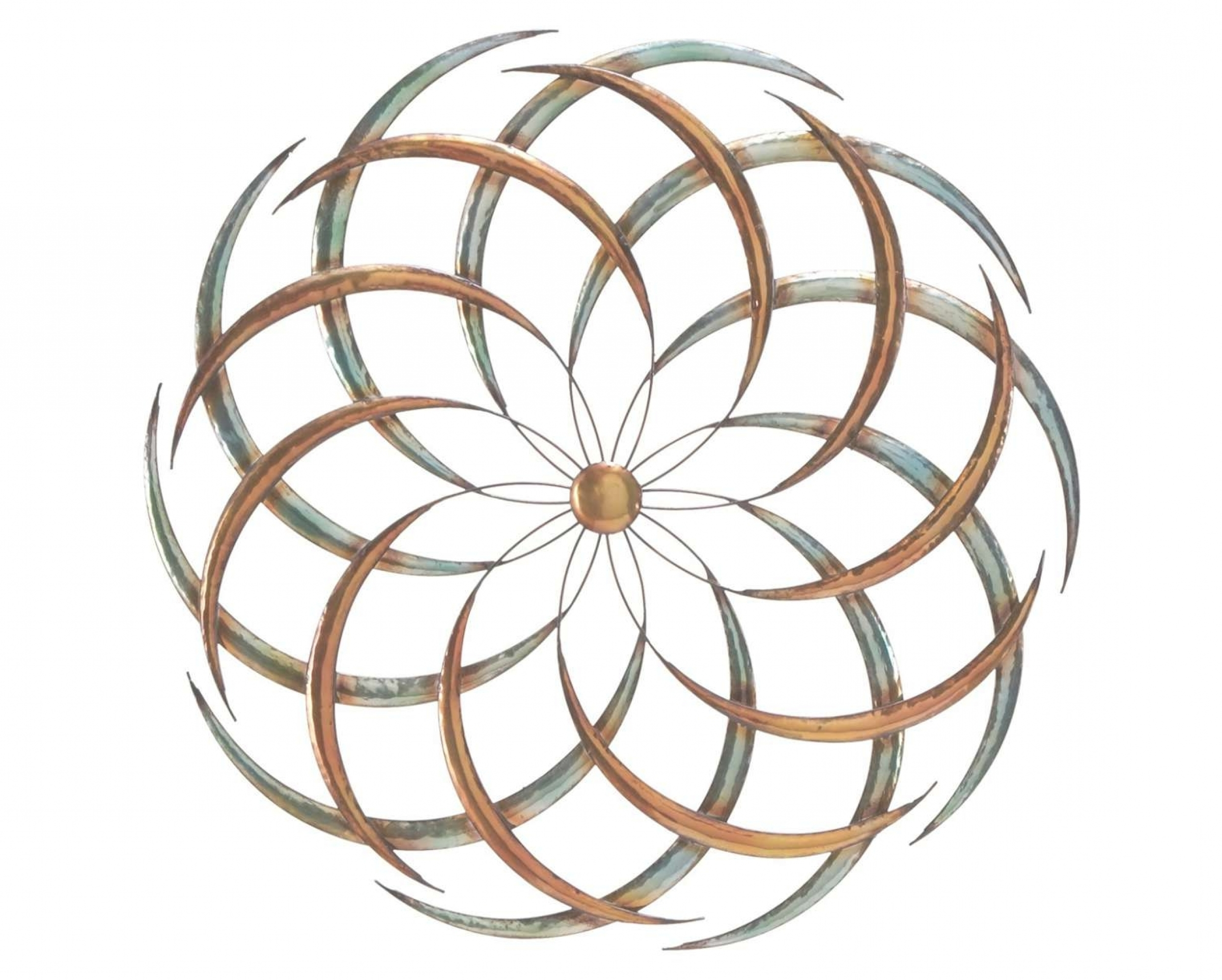 Trendy Traditional Metal Wall Plaque Throughout Large Round Metal Wall Art – Ideas On Foter (View 20 of 20)