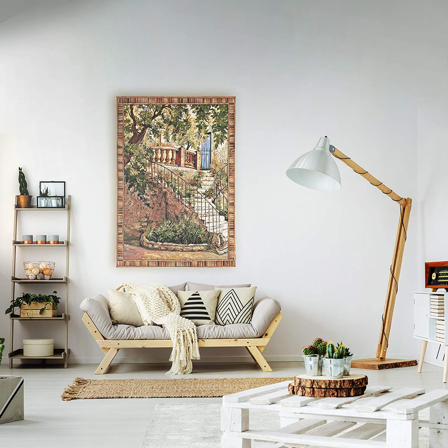[%tuscan Villa Iroger Duvall | Woven Tapestry Wall Art Hanging | Rustic Italian Steps With Foliage | 100% Cotton Usa Size 53x40 Intended For Widely Used Blended Fabric Bellagio Scalinata Wall Hangings|blended Fabric Bellagio Scalinata Wall Hangings Regarding Trendy Tuscan Villa Iroger Duvall | Woven Tapestry Wall Art Hanging | Rustic Italian Steps With Foliage | 100% Cotton Usa Size 53x40|trendy Blended Fabric Bellagio Scalinata Wall Hangings Regarding Tuscan Villa Iroger Duvall | Woven Tapestry Wall Art Hanging | Rustic Italian Steps With Foliage | 100% Cotton Usa Size 53x40|popular Tuscan Villa Iroger Duvall | Woven Tapestry Wall Art Hanging | Rustic Italian Steps With Foliage | 100% Cotton Usa Size 53x40 For Blended Fabric Bellagio Scalinata Wall Hangings%] (View 17 of 20)