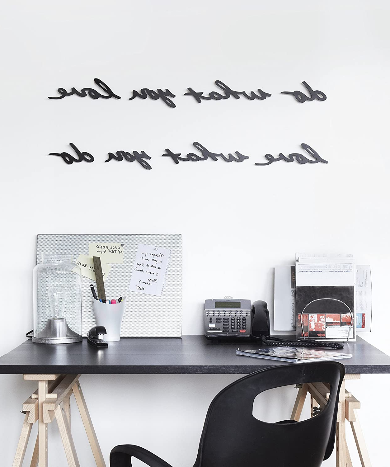 Umbra Mantra Wall Decor Phrase, Do What You Love Pertaining To Well Liked Mantra Do What You Love Wall Décor (View 8 of 20)