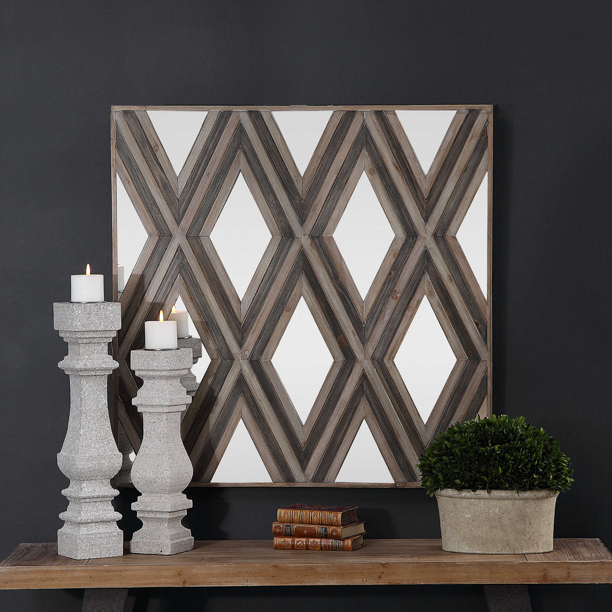 Uttermost Inside Preferred Square Wood Wall Décor (View 15 of 20)
