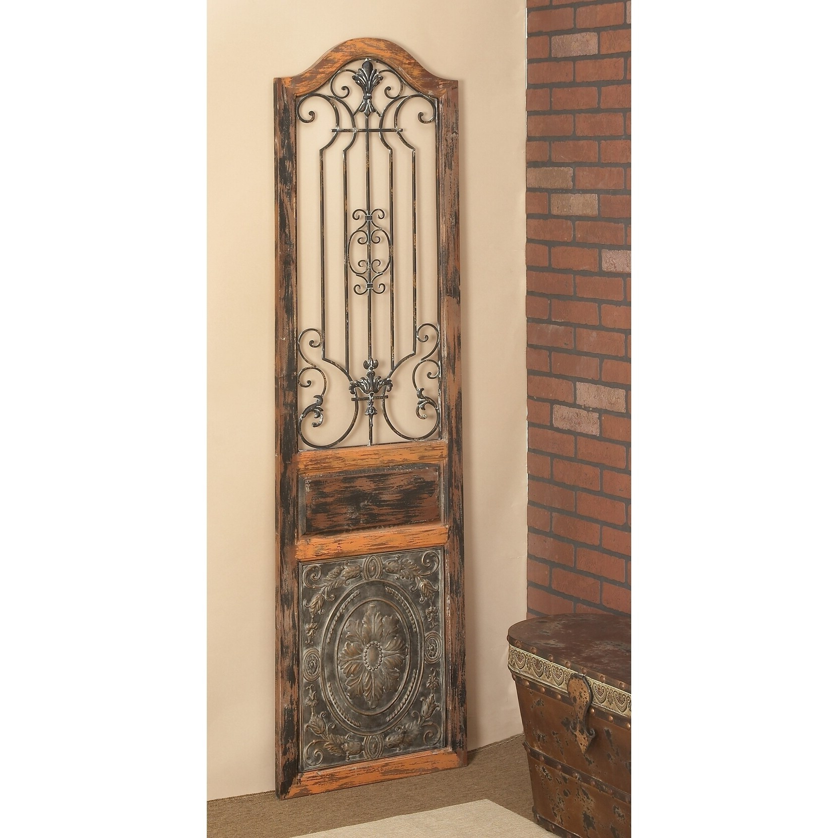 Vintage Style Wood Metal Wall Decor In Recent Antique Iron Alloy Wall Décor (View 18 of 20)