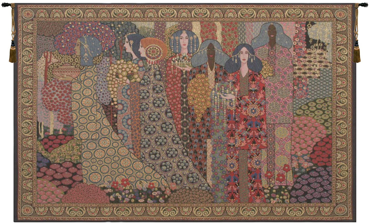Featured Photo of Blended Fabric Aladin European Wall Hangings