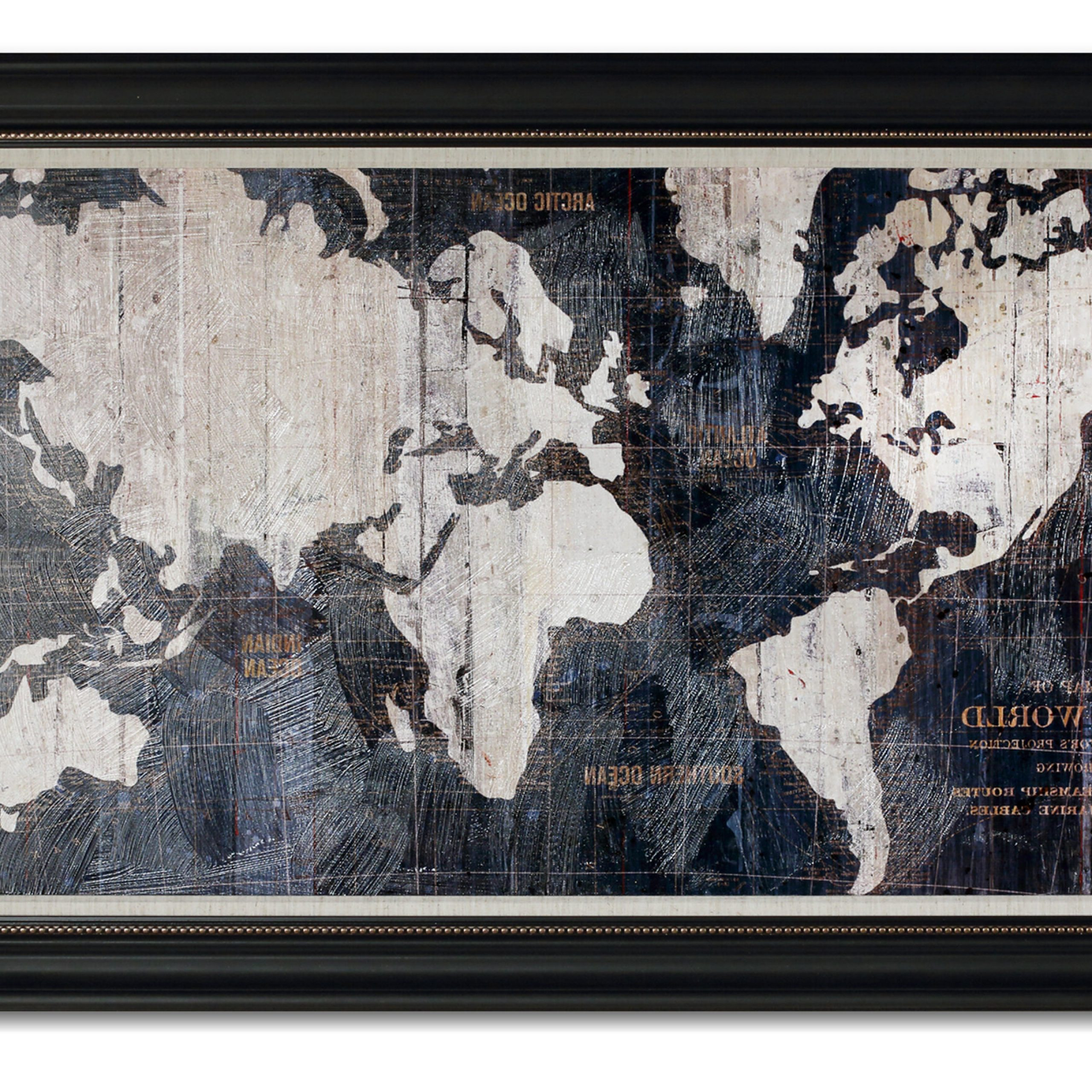 Wayfair Within Wall Mounted World Map Sculpture By Alcott Hill (View 5 of 20)